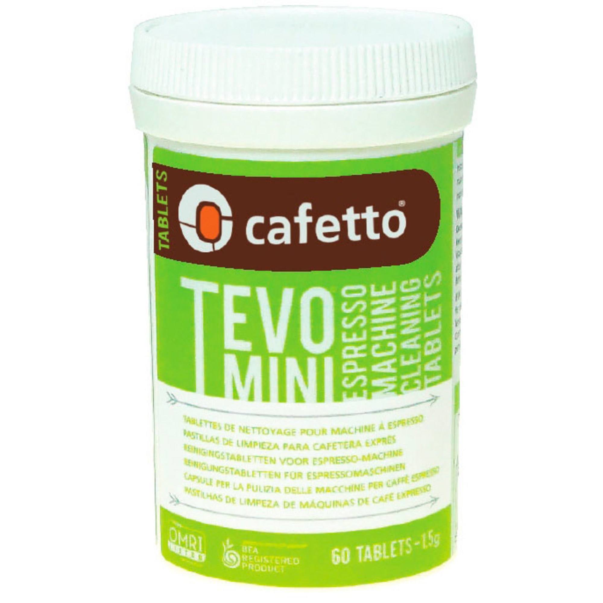 Cafetto TEVO Mini Rengöringstabletter
