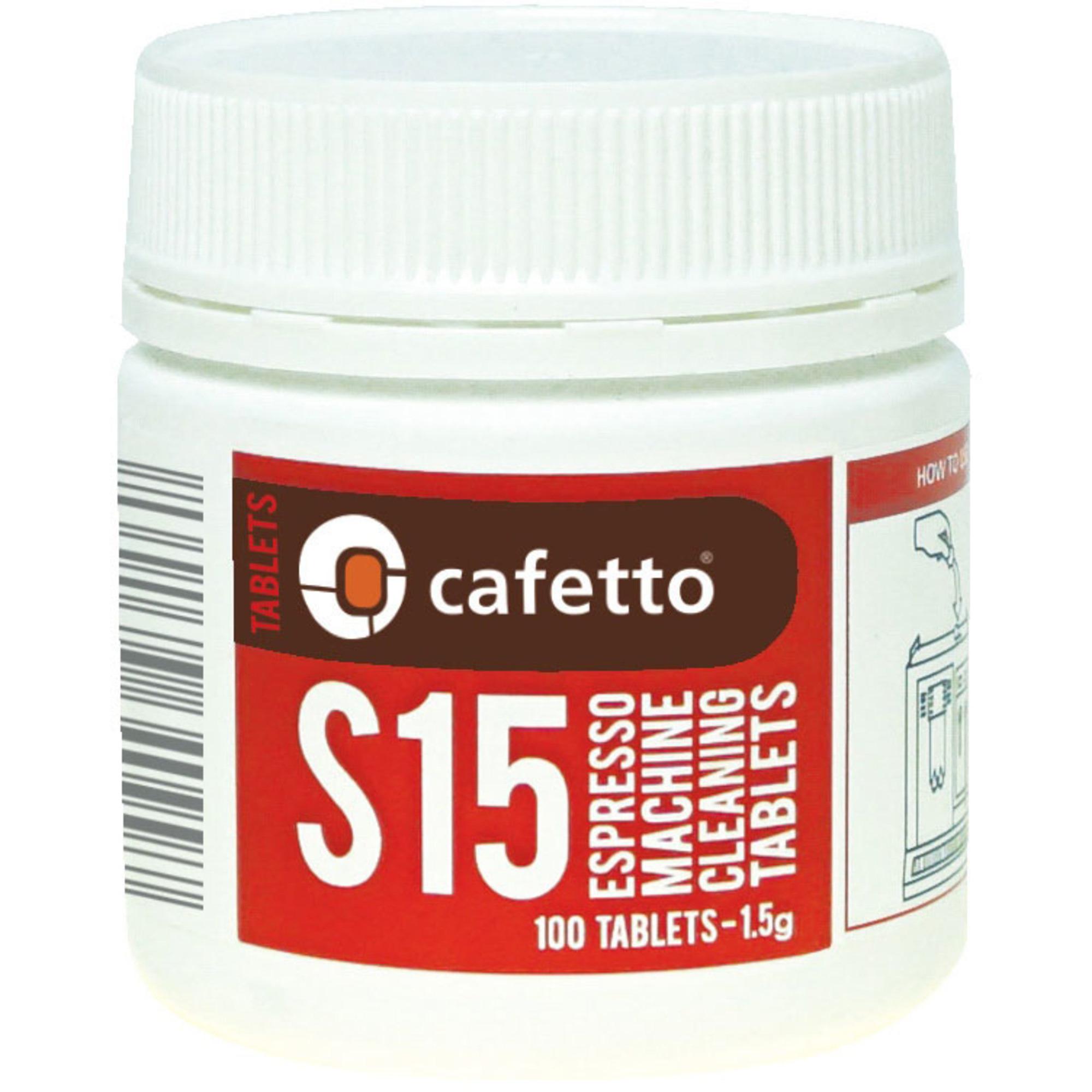 Cafetto S15 Rengöringstabletter