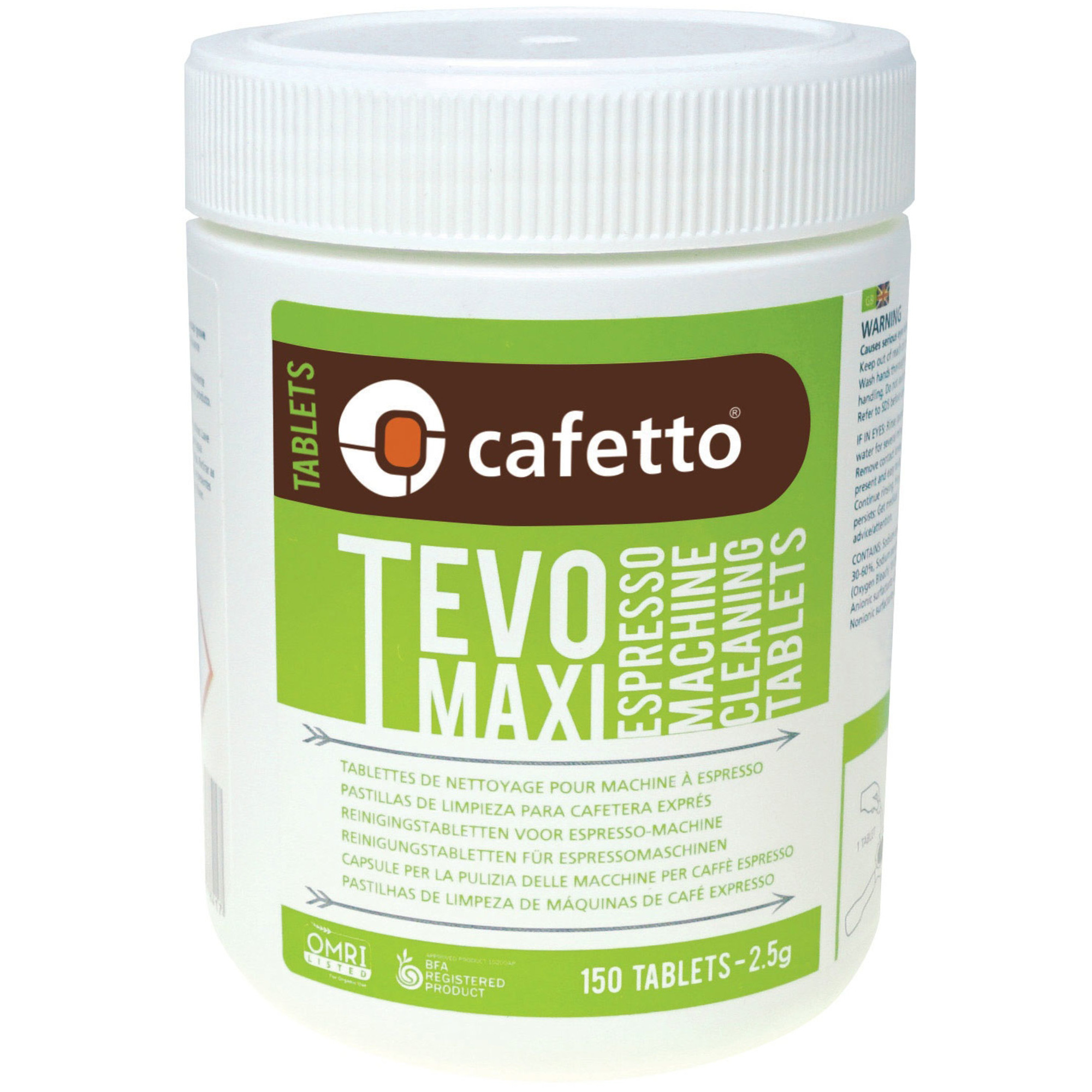 Cafetto TEVO Maxi Rengöringstabletter