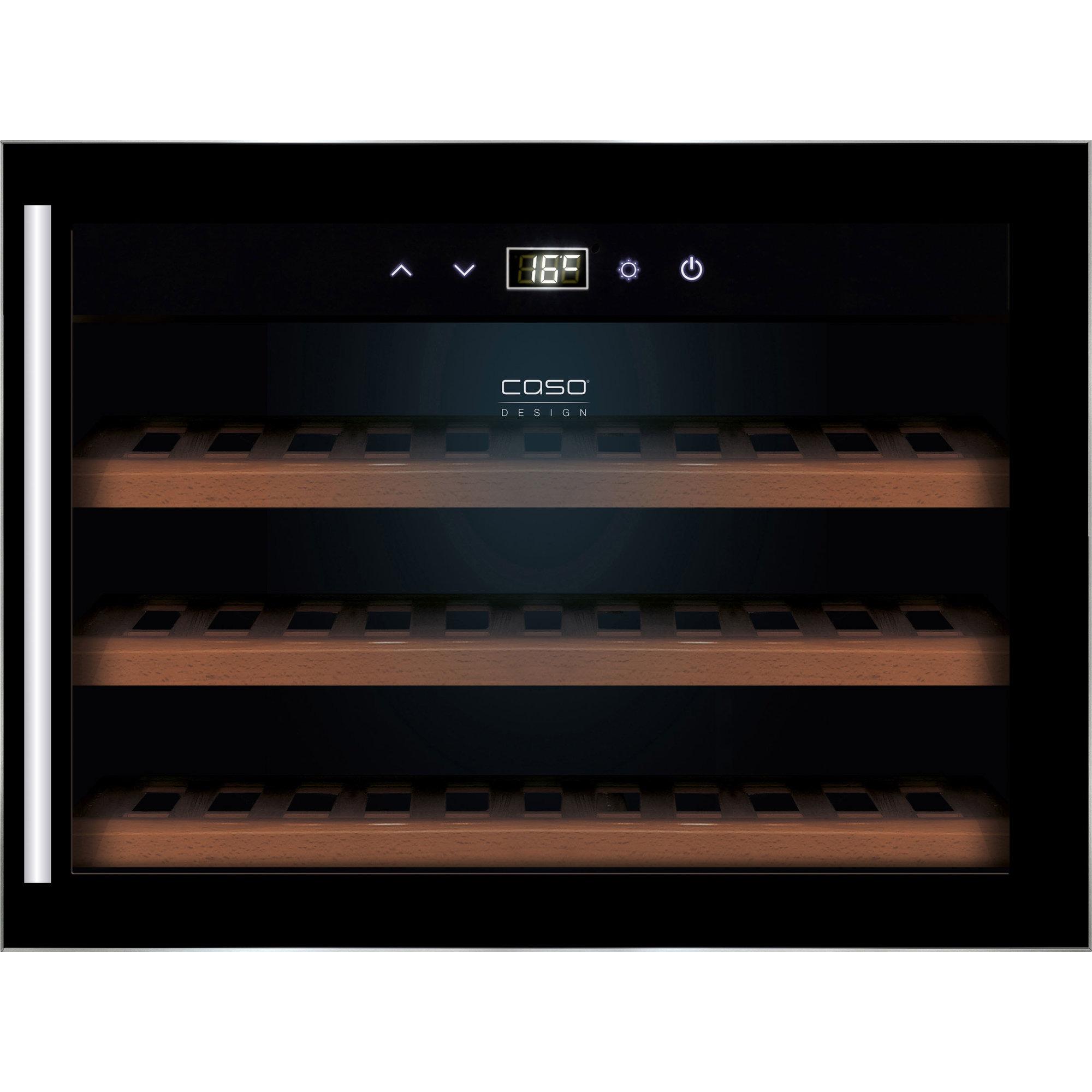 Caso WineSafe 18 inbyggt vinkylskåp