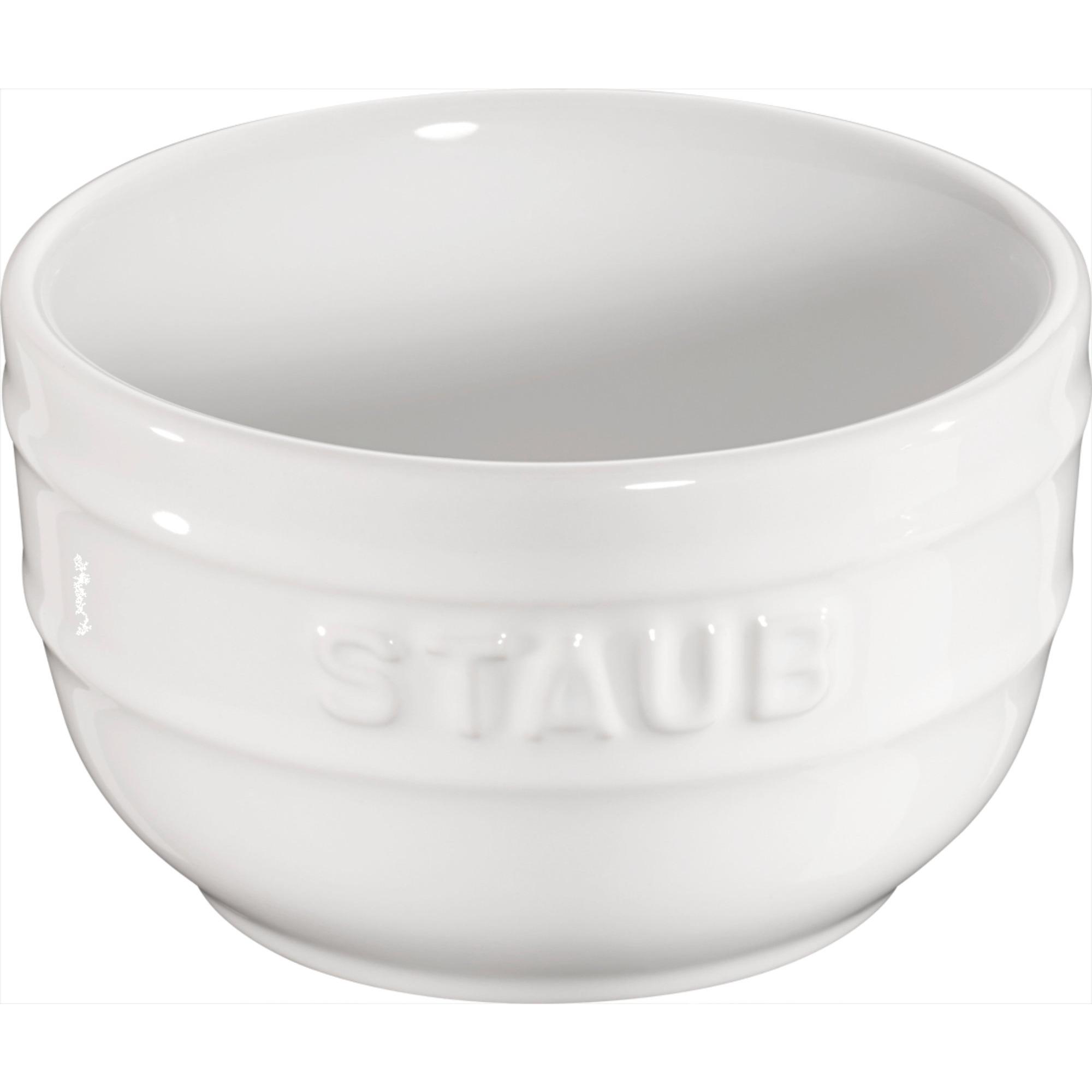 Staub Ceramic Ramekin Vit 2-pack 8 cm 02 l