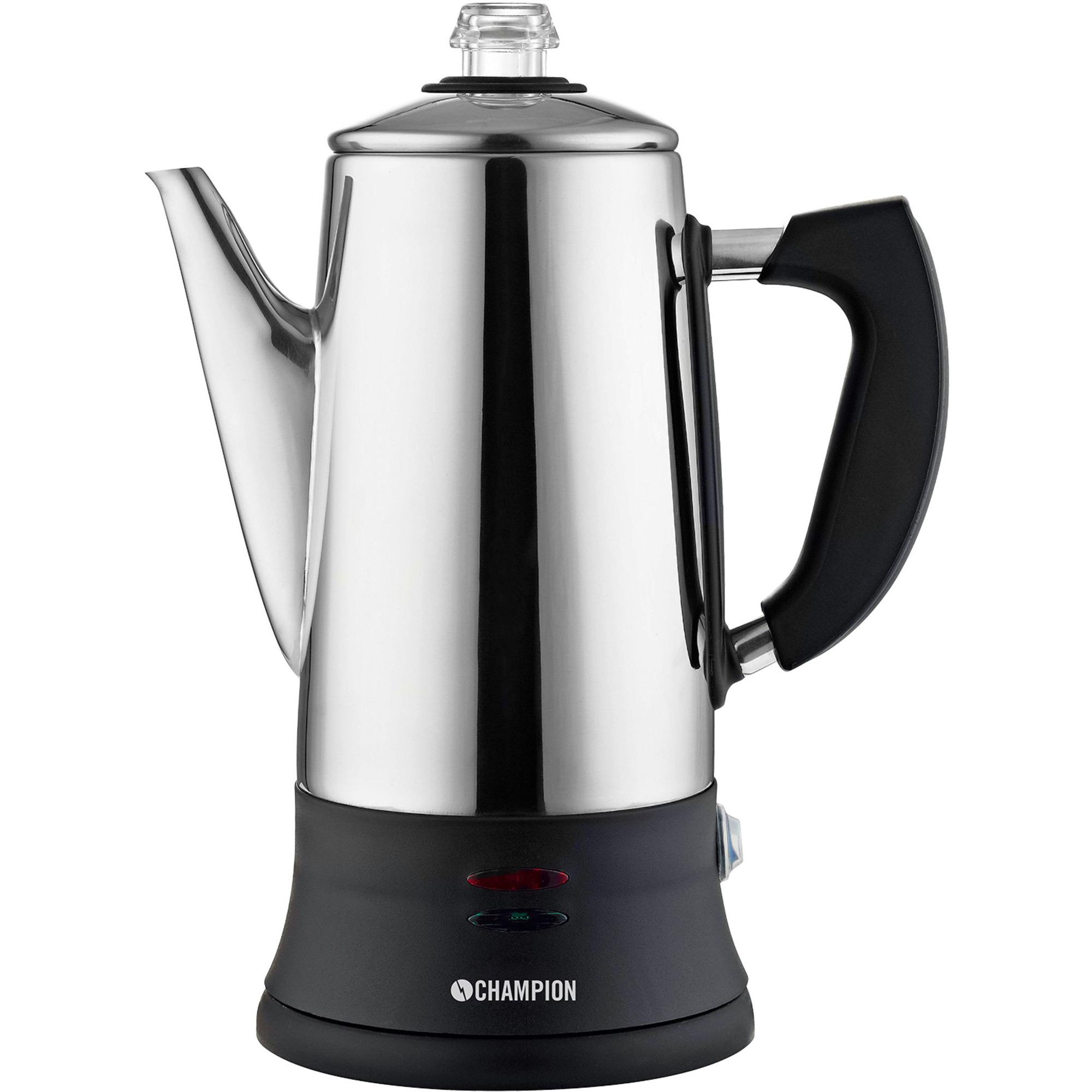 Champion Kaffebryggare Perkolator ECO 12 koppar