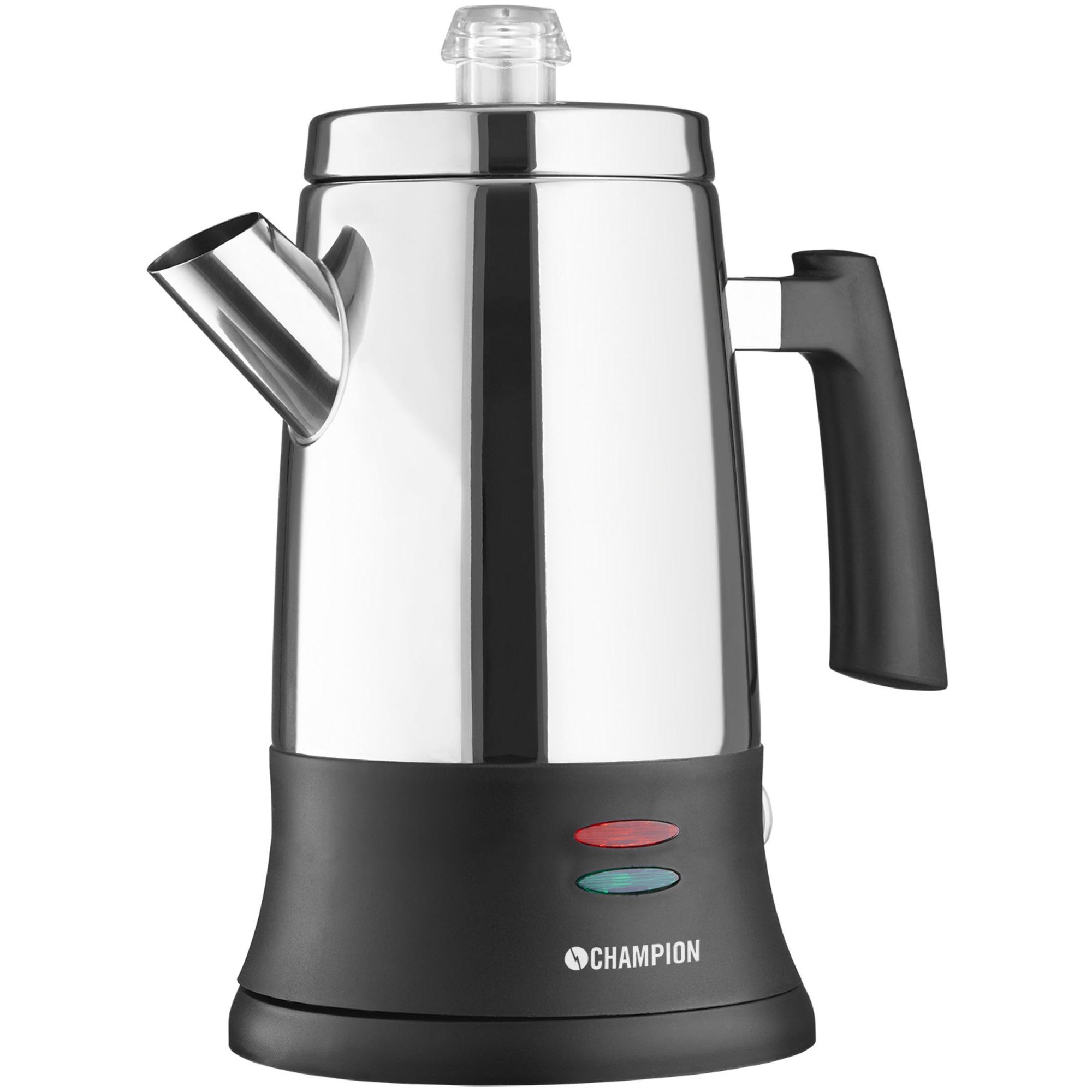 Champion Kaffebryggare Perkolator ECO 6 koppar