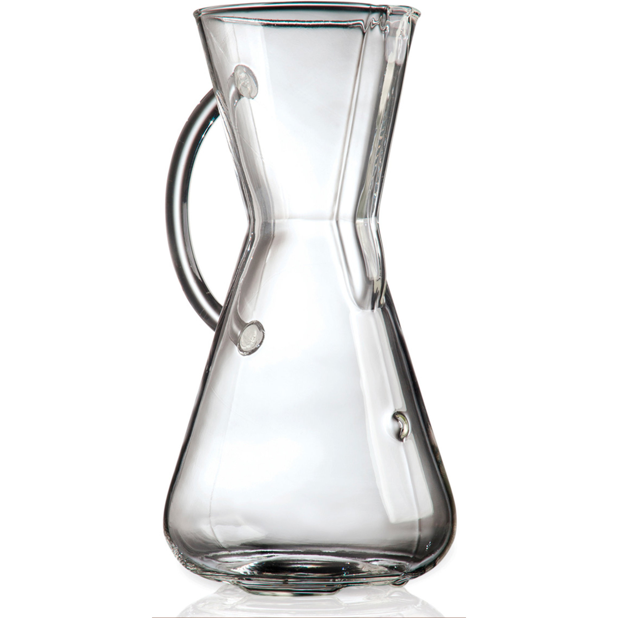 Chemex Kaffebryggare 3 Koppar Glass Handle