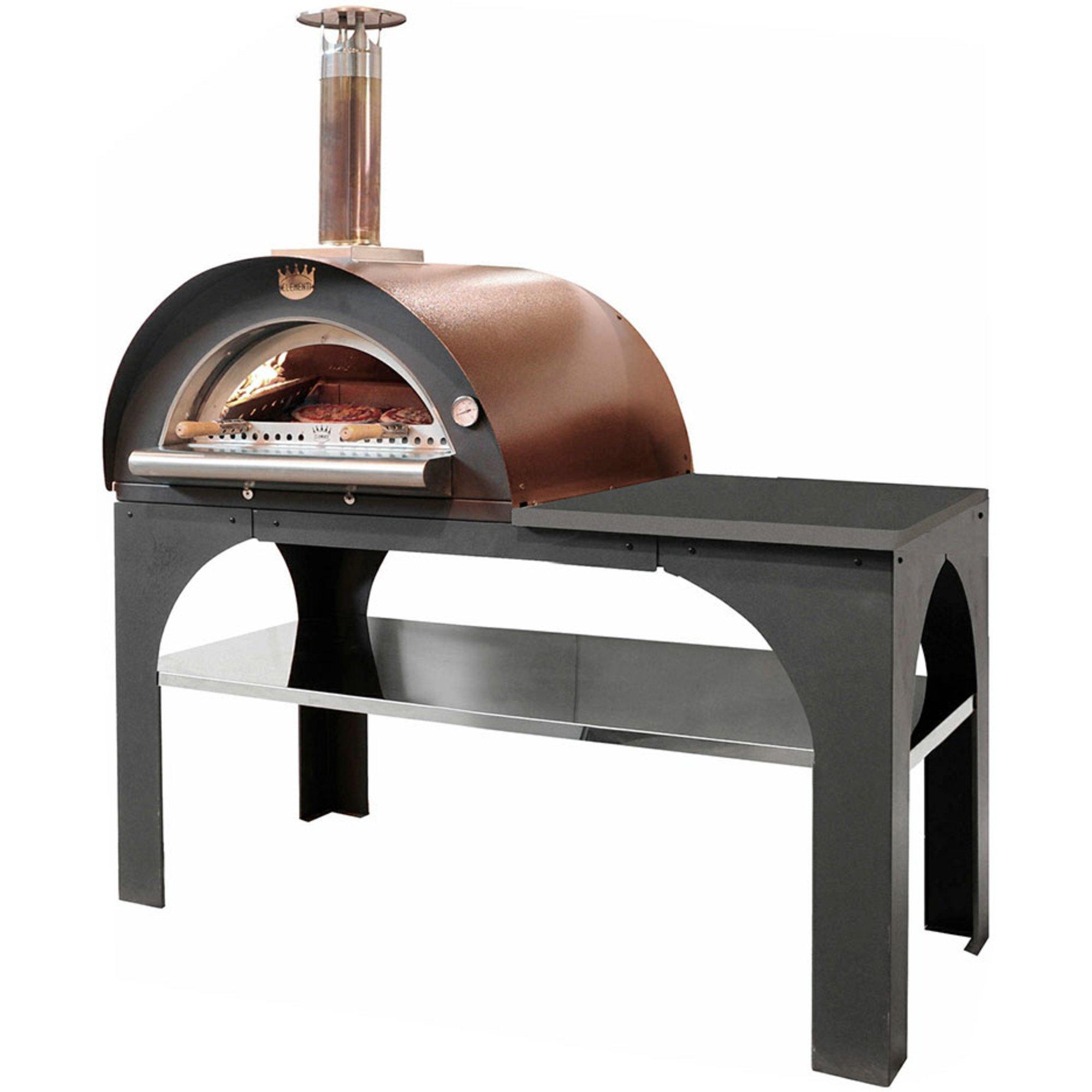 Clementi Pizza Party Vedeldad Pizzaugn 80×60 cm. Koppar