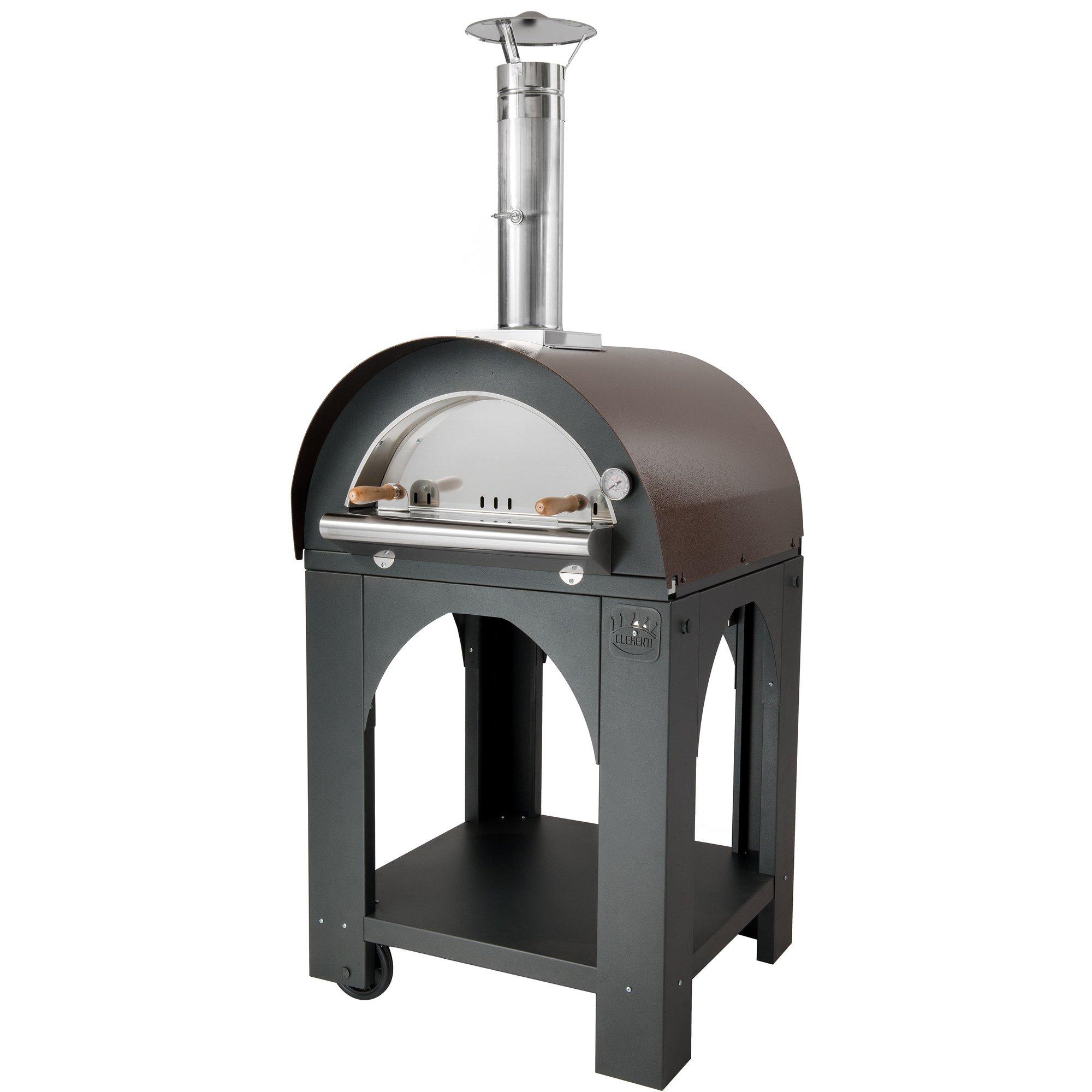 Clementi Pulcinella Vedeldad Pizzaugn 60×60 cm. Koppar