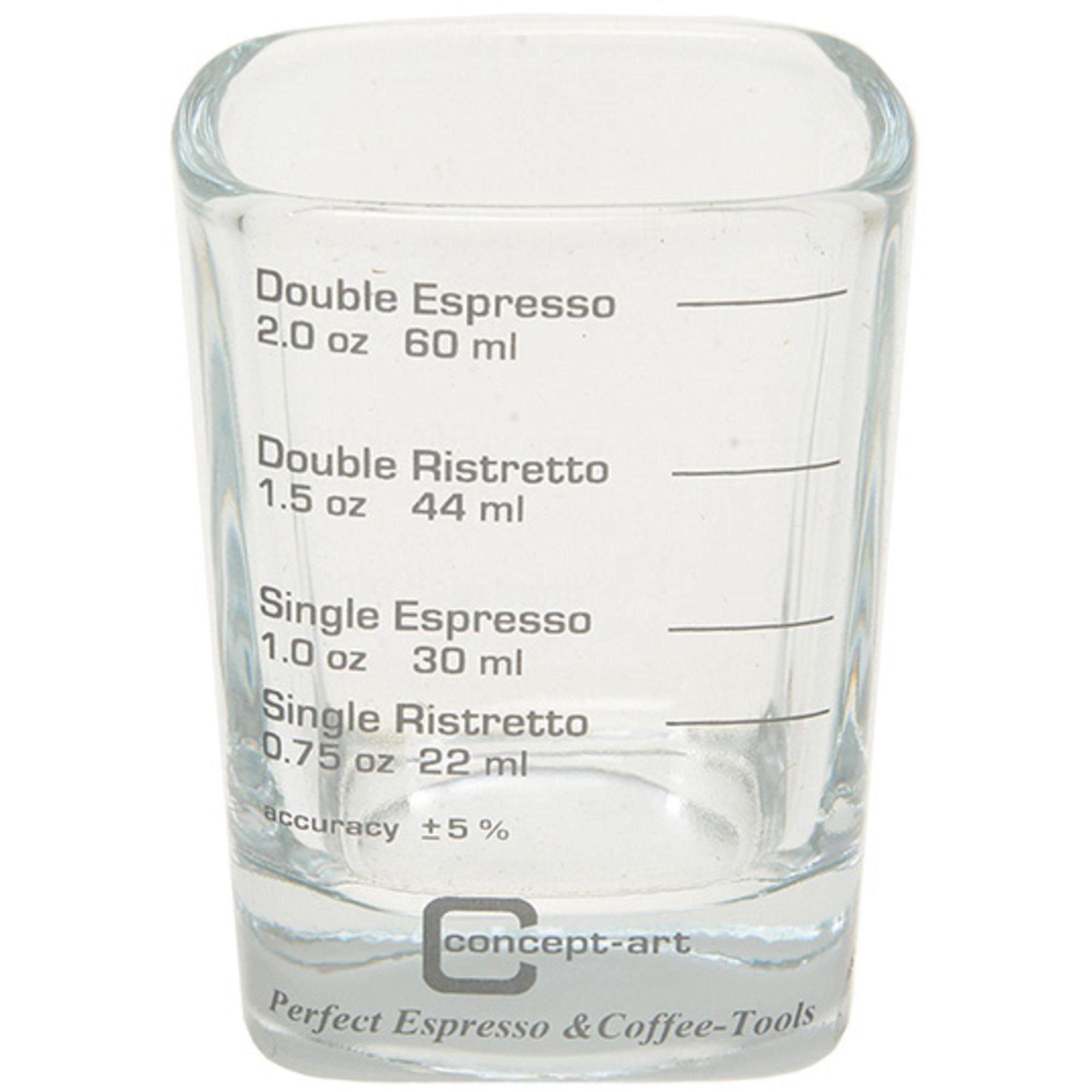 Concept-Art Mätbägare Glas