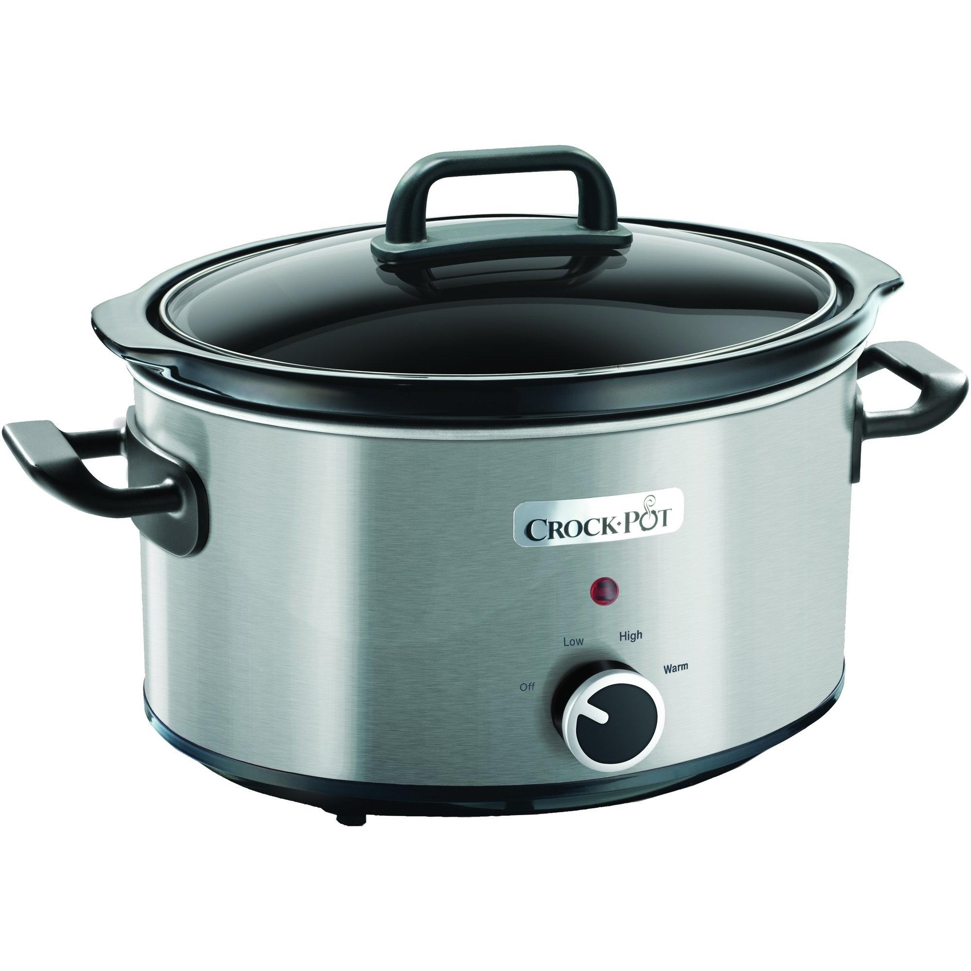 Crock-Pot Slowcooker 35 L Rostfritt Stål