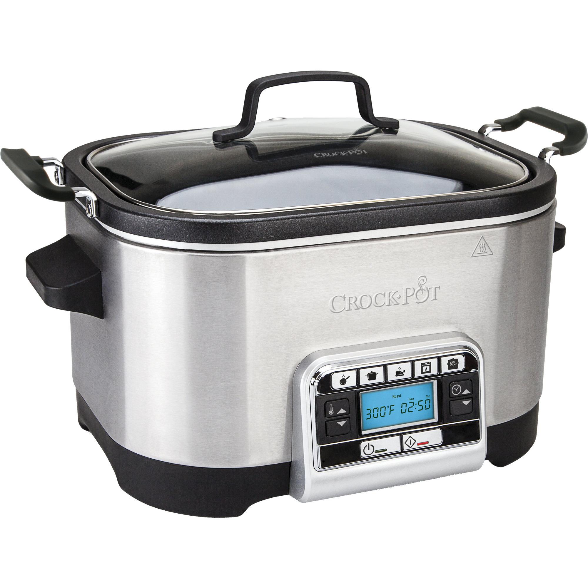 Crock-Pot Multifunktionell Slowcooker 56 L Timer