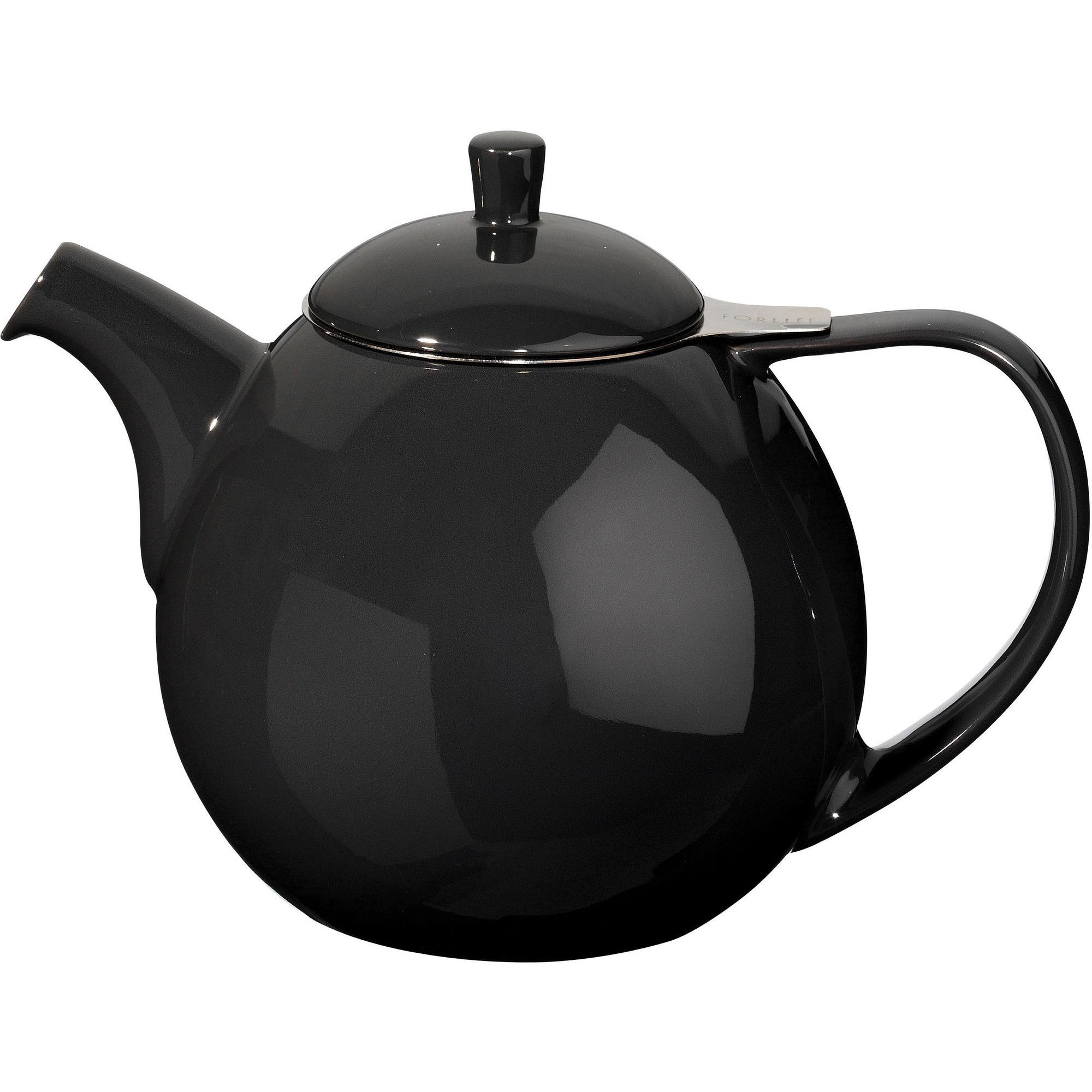 ForLife Curve Teapot 070L Svart