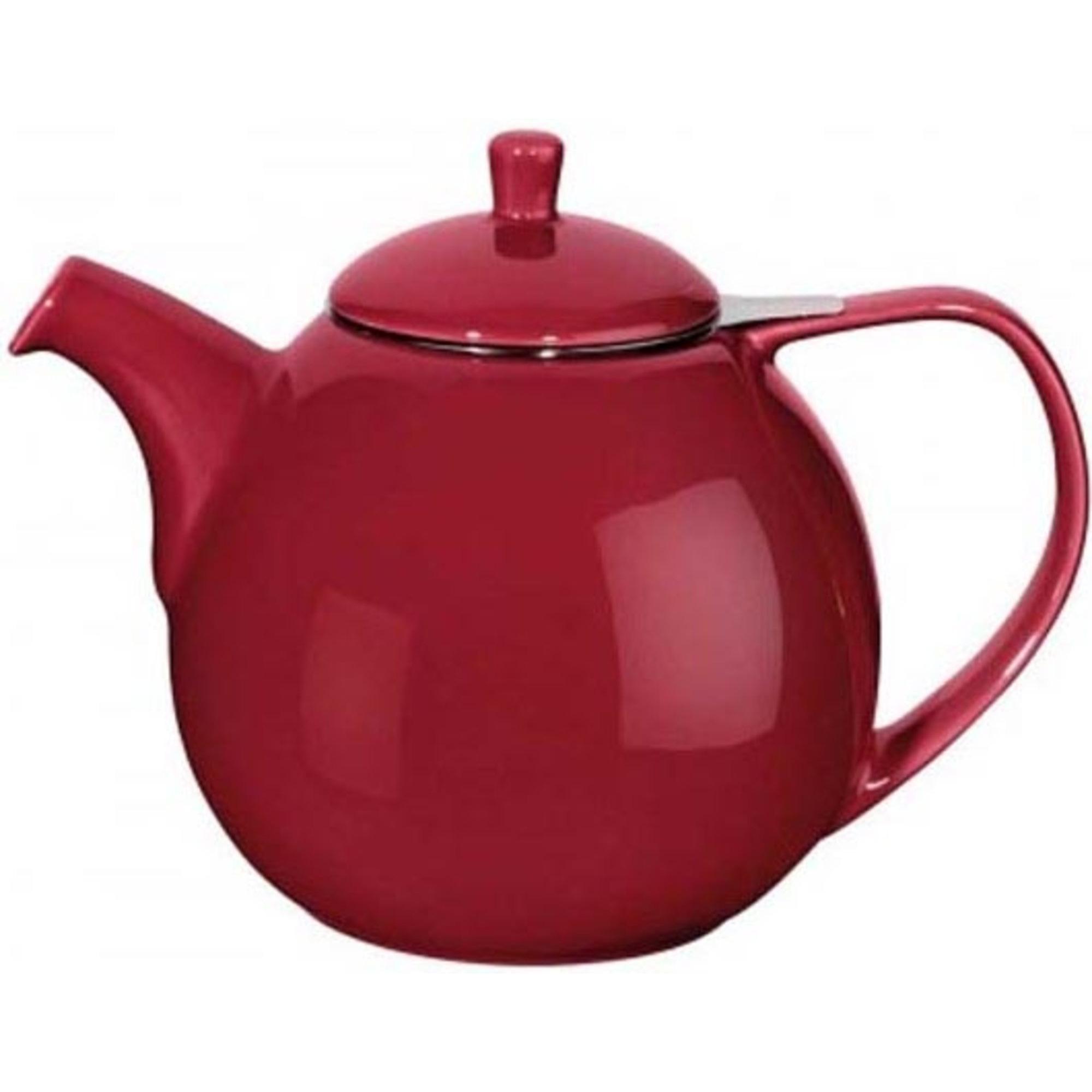 ForLife Curve Teapot 1,3L Bordeux