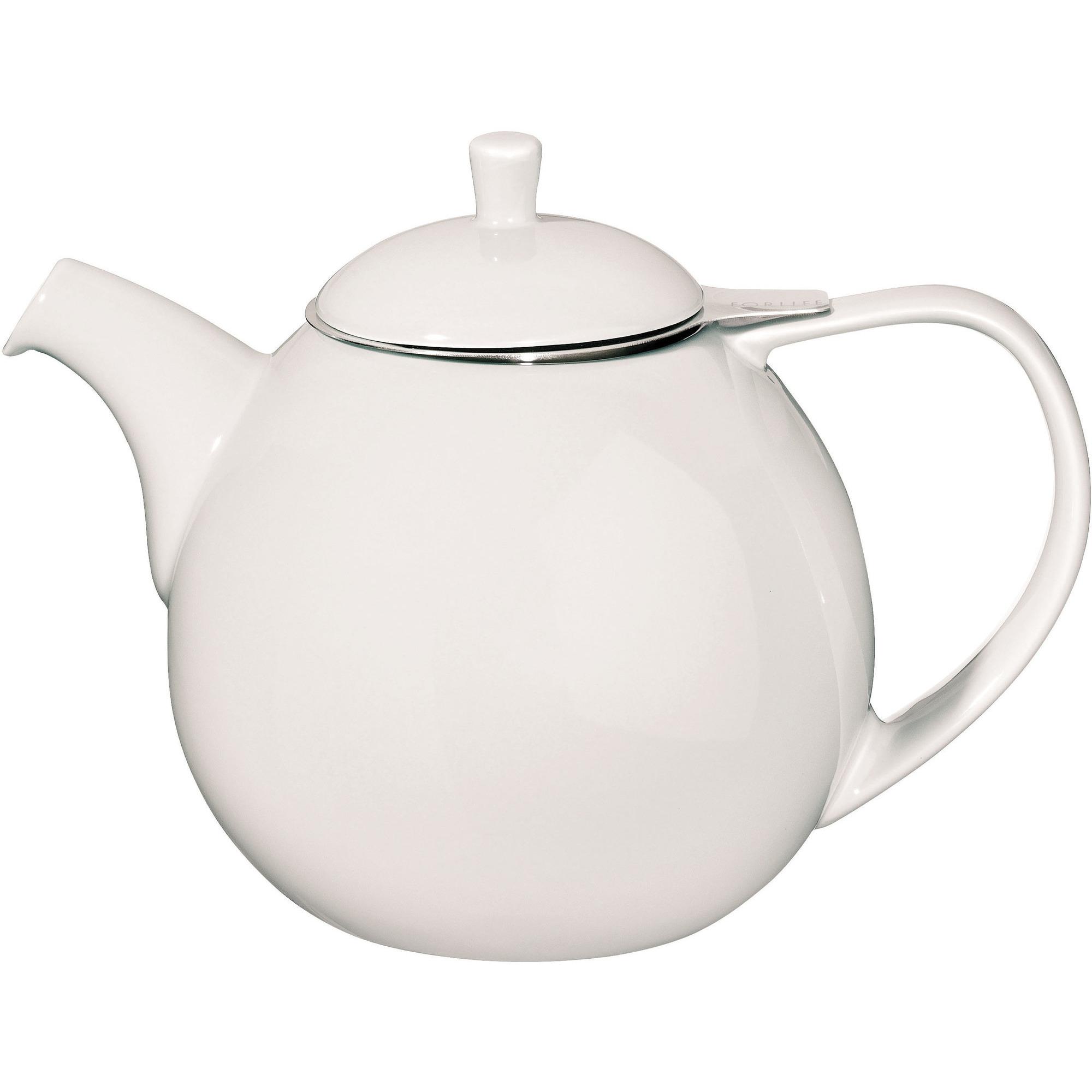 ForLife Curve Teapot 1,3L Hvid