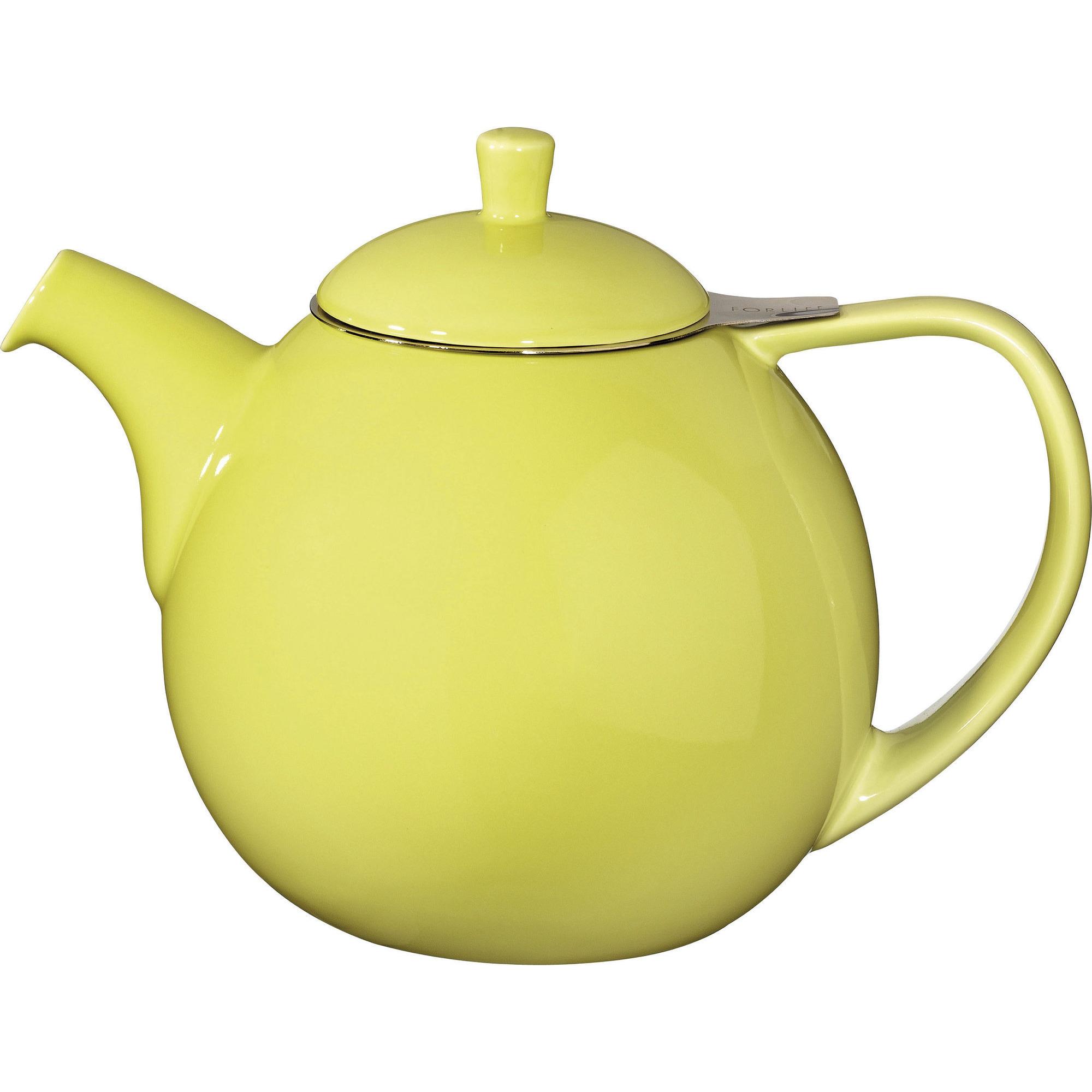 ForLife Curve Teapot 1,3L Lime