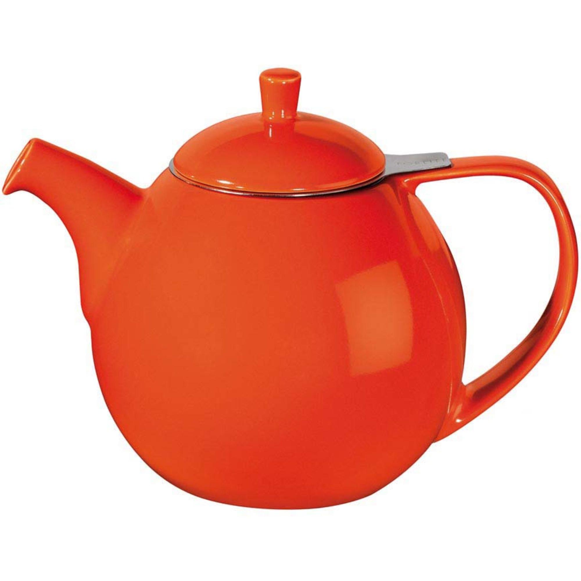 ForLife Curve Teapot 1,3L Oransje