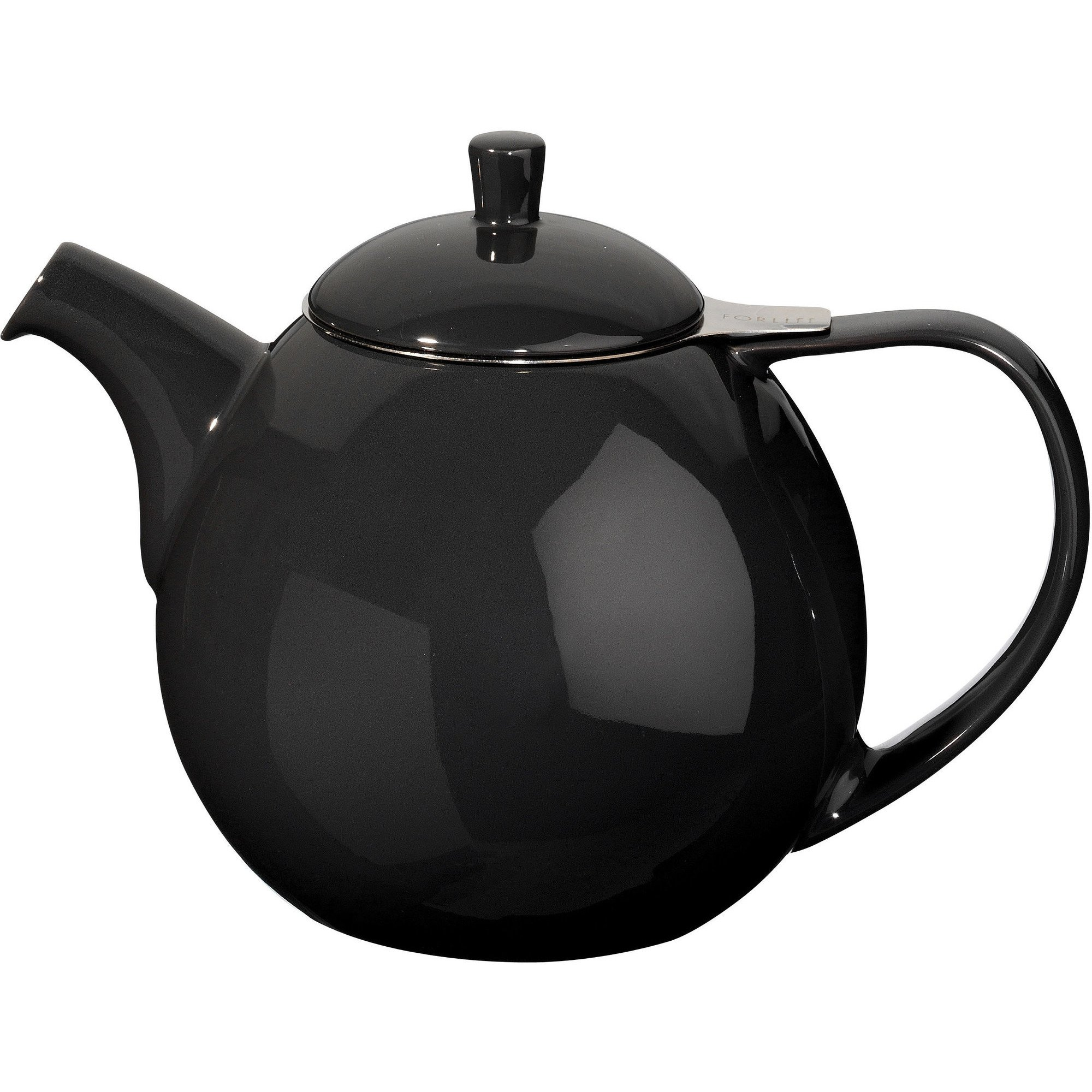 ForLife Curve Teapot 1,3L Sort