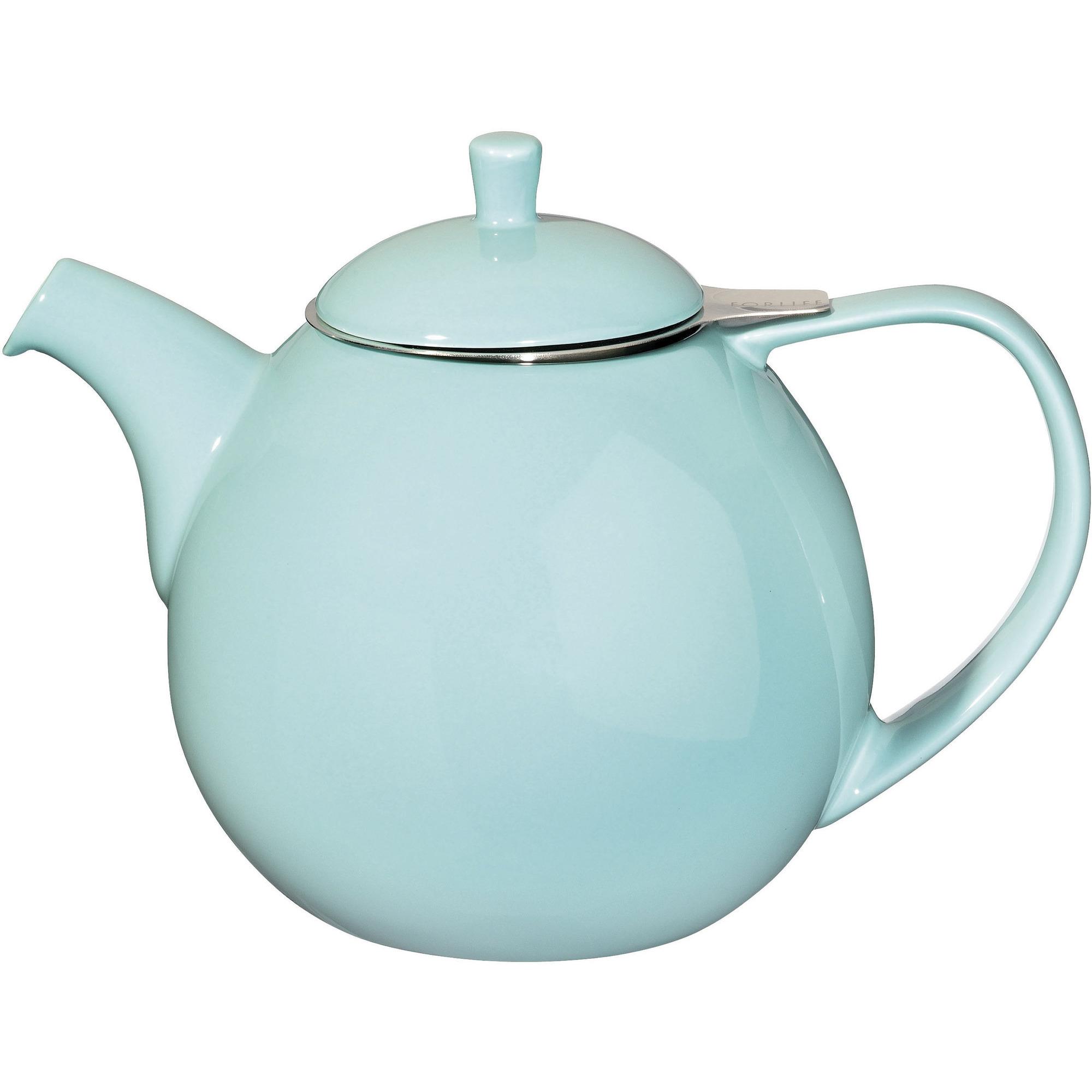 ForLife Curve Teapot 1,3L Turkis