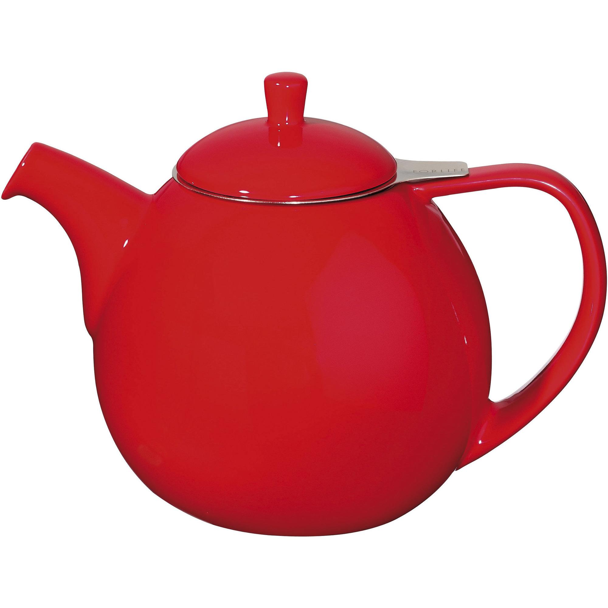 ForLife Curve Teapot 070L Röd