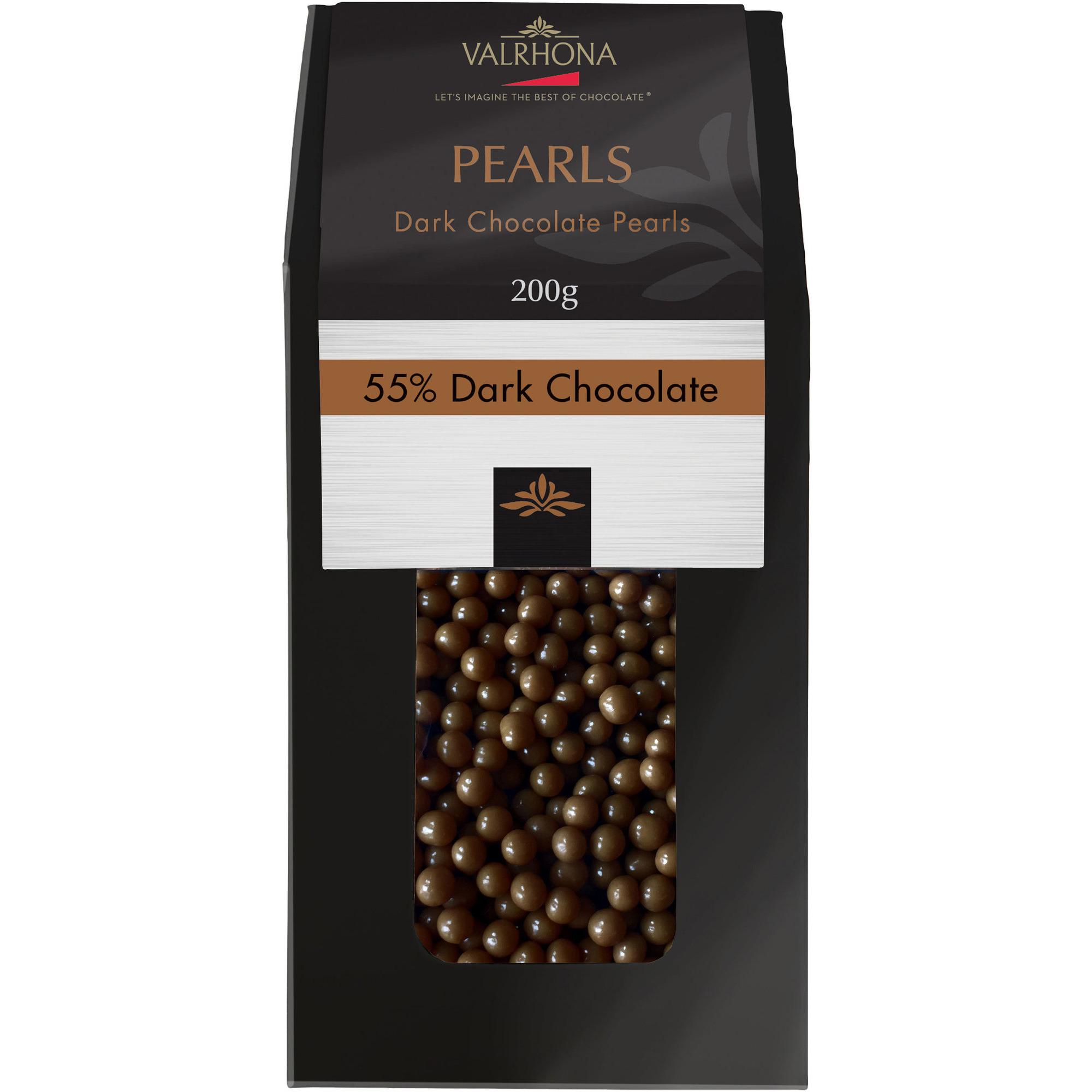 Valrhona Dark Chocolate Pearls