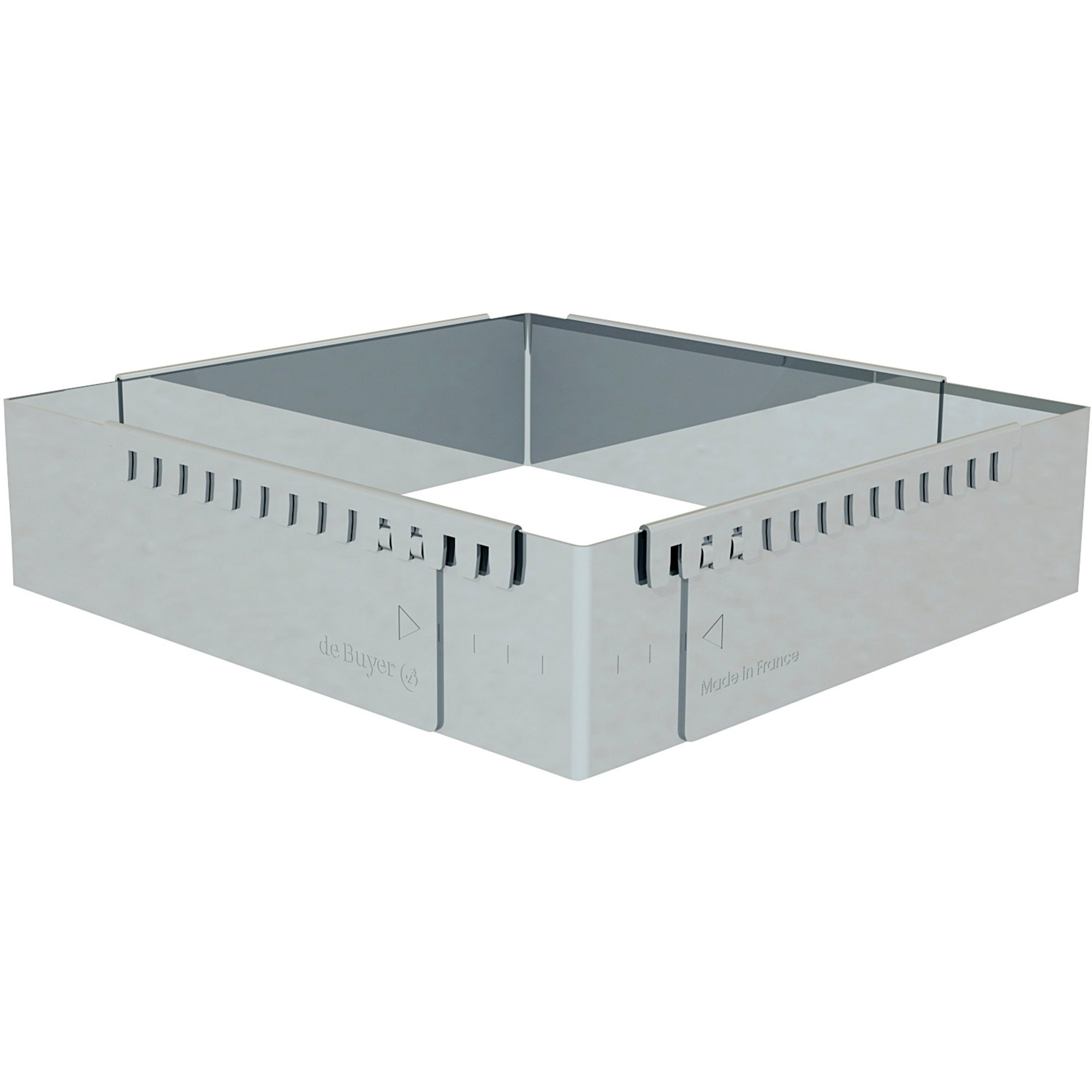 De Buyer Justerbar bakform 16 X 16 cm – 30 X 30 cm