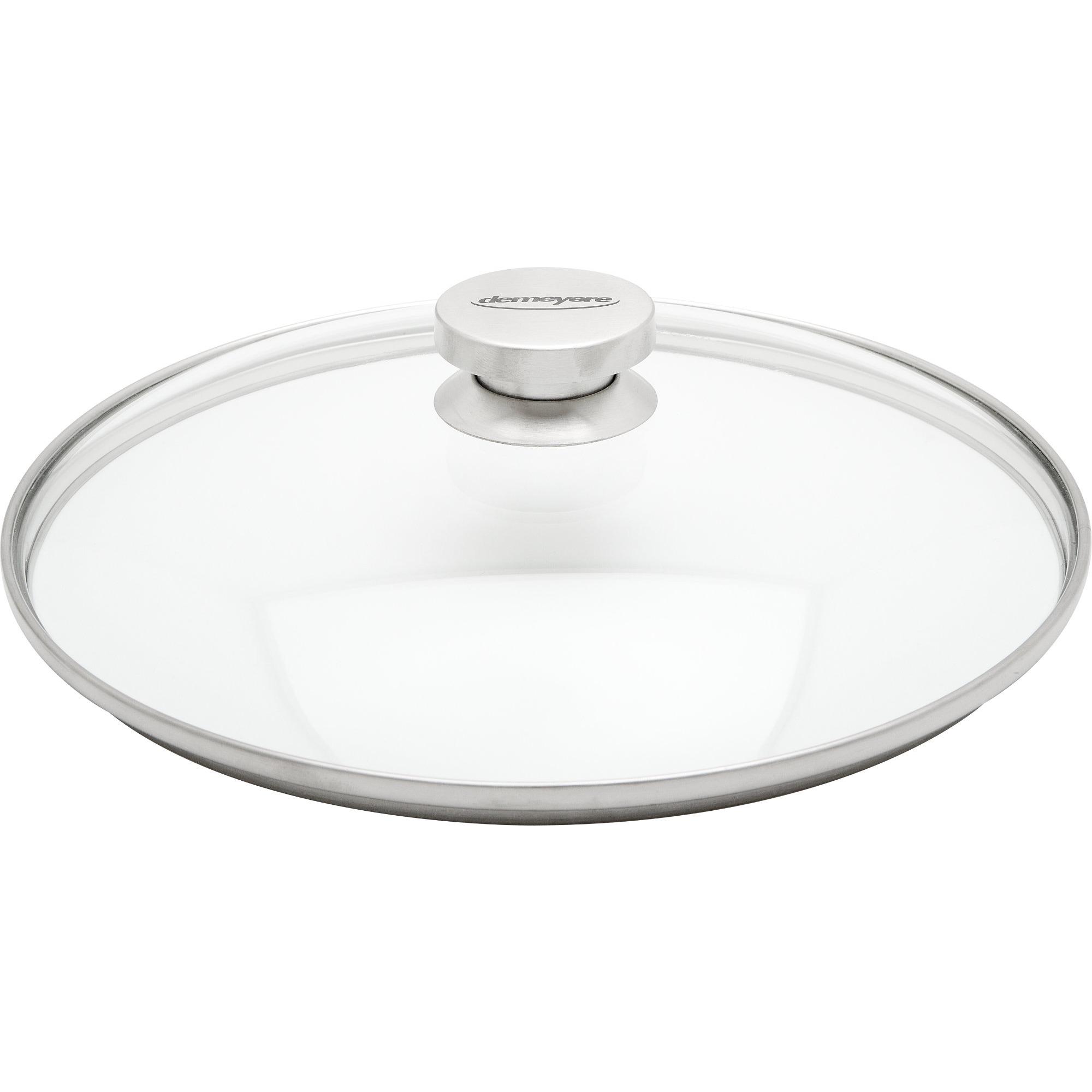 Demeyere Specialties Lock 28 cm Glas med Stålknopp