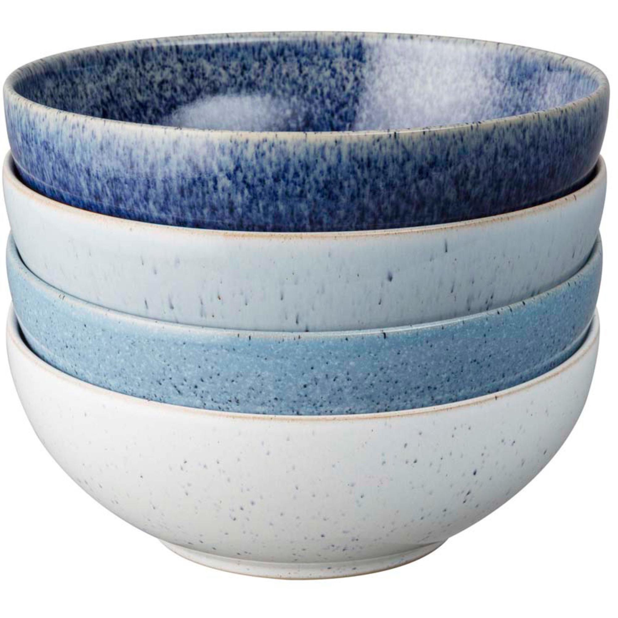 Denby Studio Blue Flingskål 17 cm 4-Pack