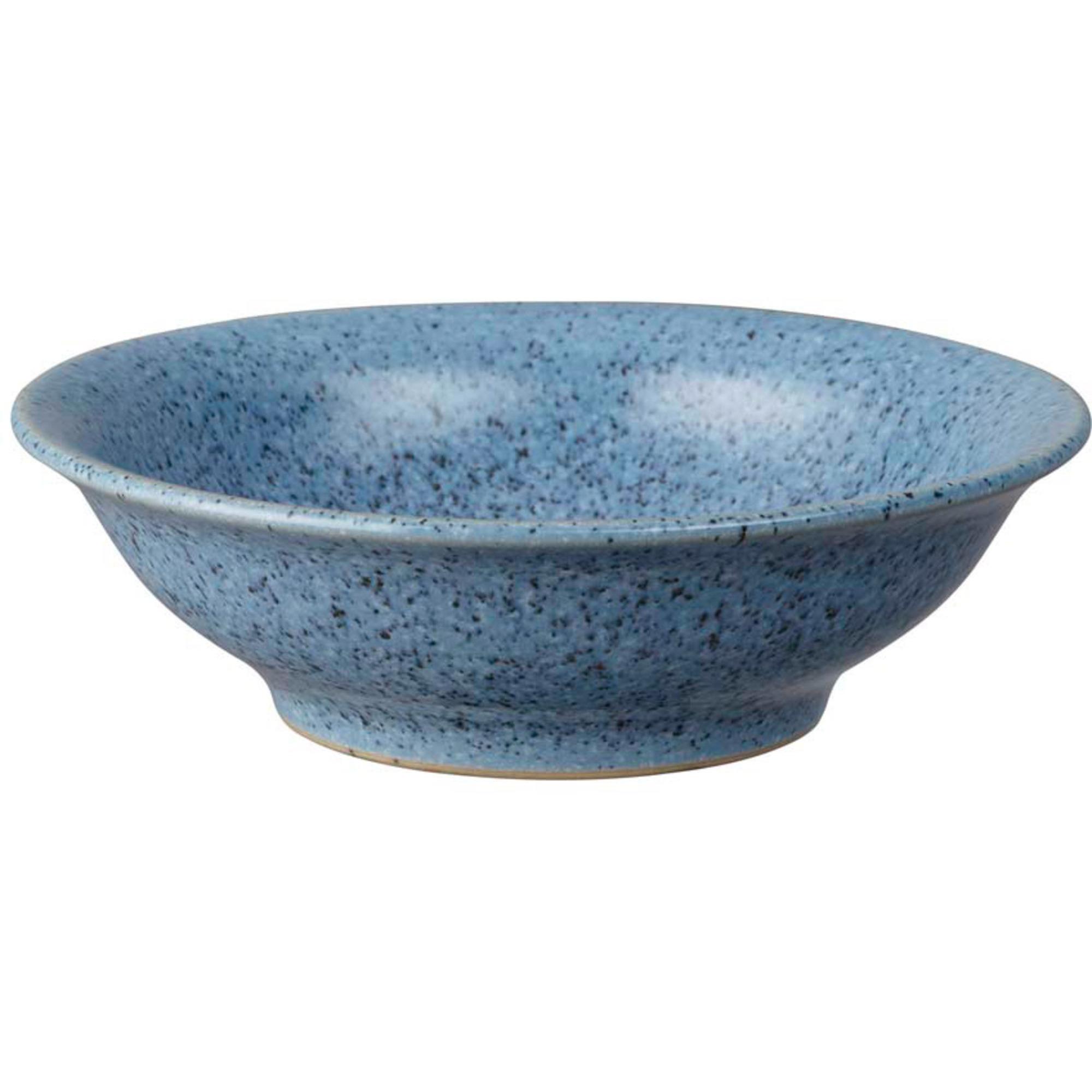 Denby Studio Blue Flint Small Shallow Bowl 13 cm
