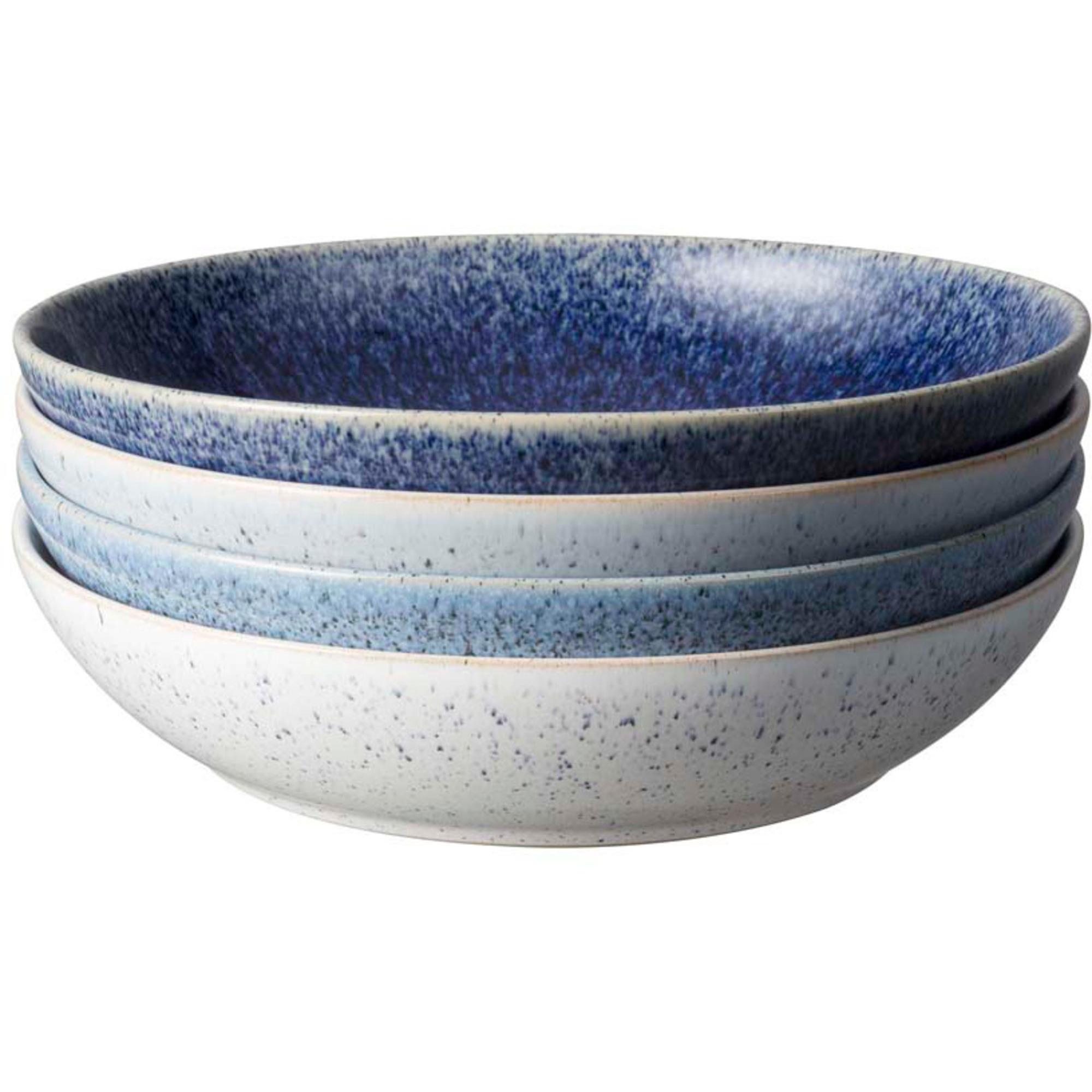 Denby Studio Blue Pastaskål 22 cm 4-Pack