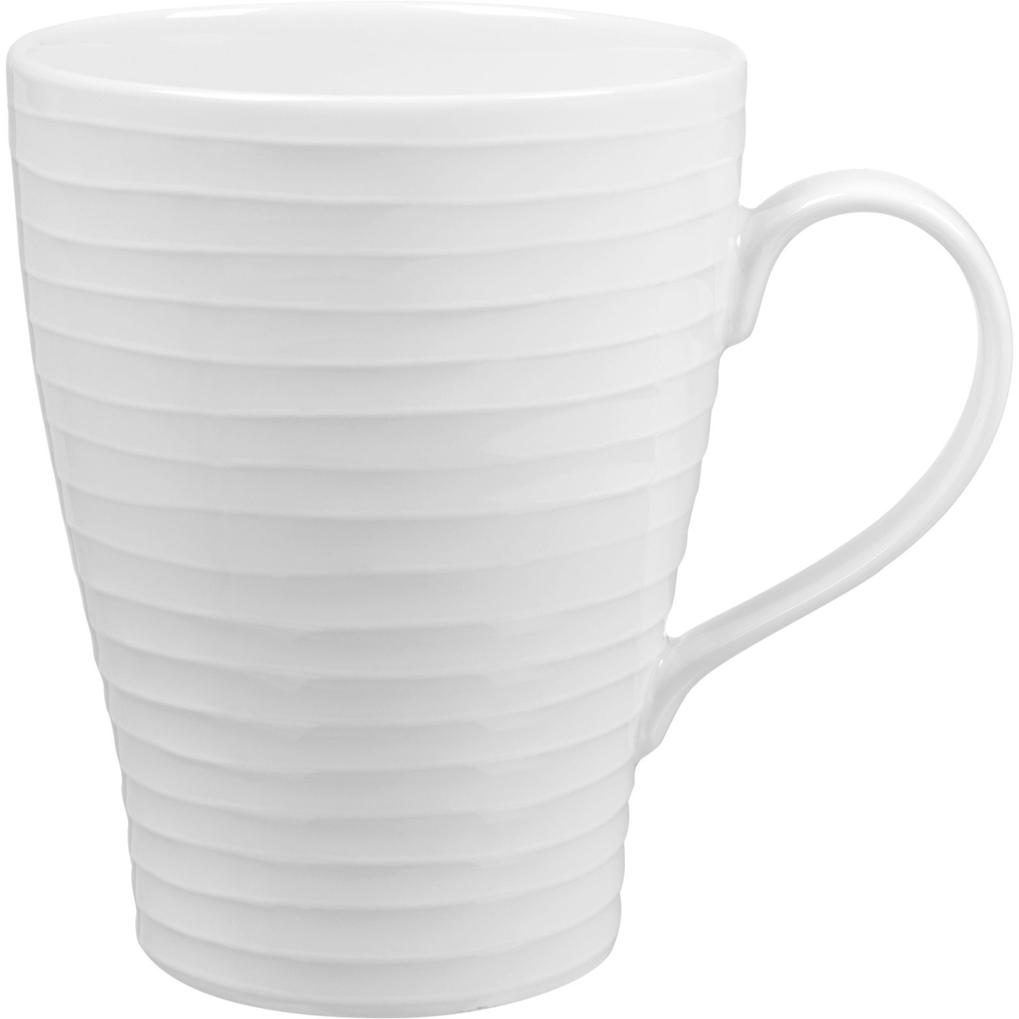 Design House Stockholm Blond Mugg Vit/Randig 30cl