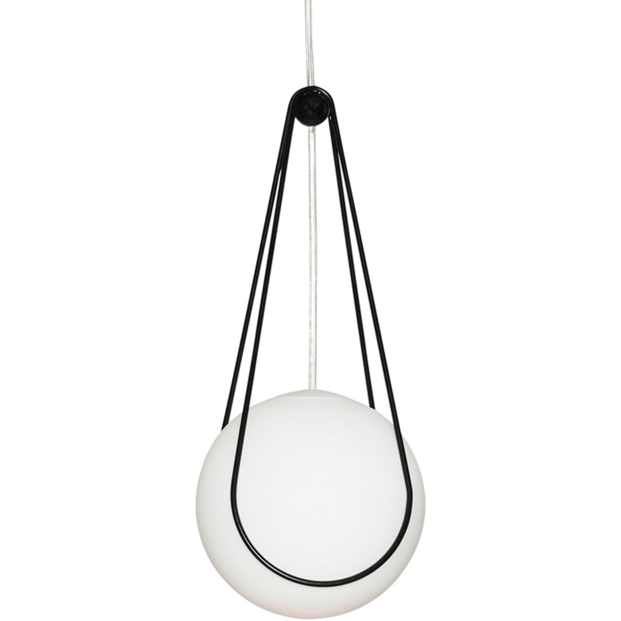 Design House Stockholm Kosmos hållare för Luna Lampa Svart 16cm