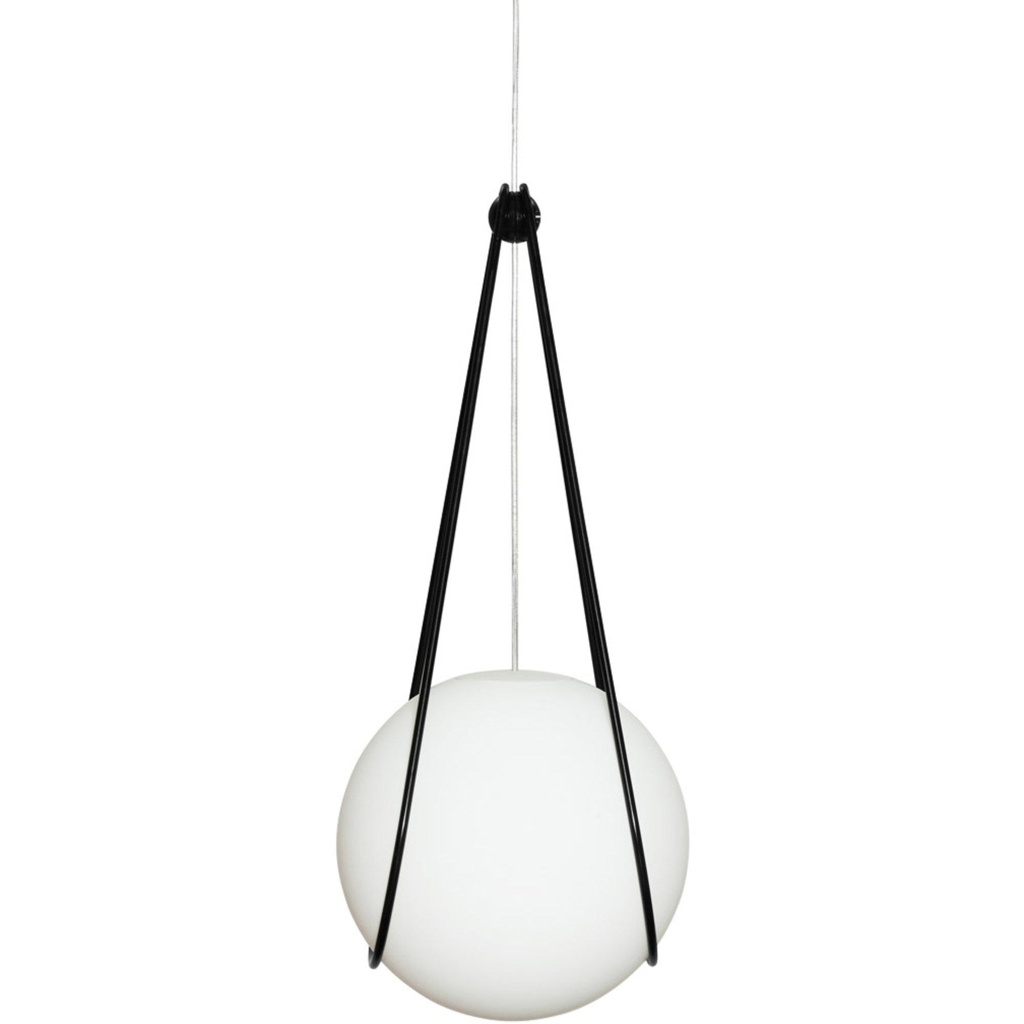 Design House Stockholm Kosmos hållare för Luna Lampa Svart 30cm