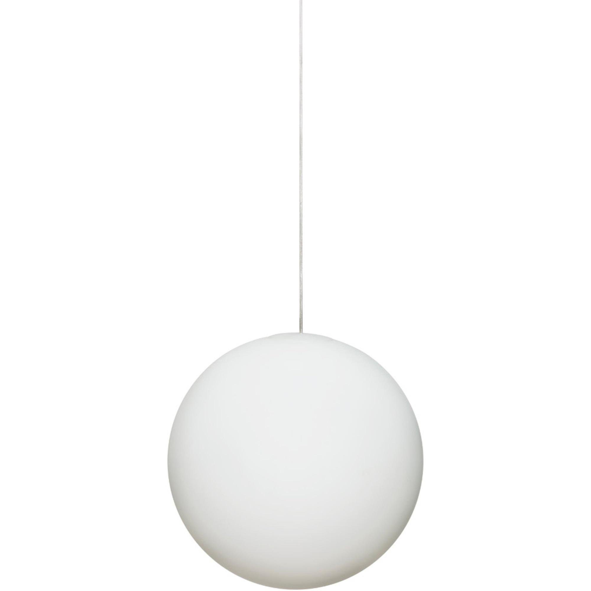 Design House Stockholm Luna Lampa Stor Vit