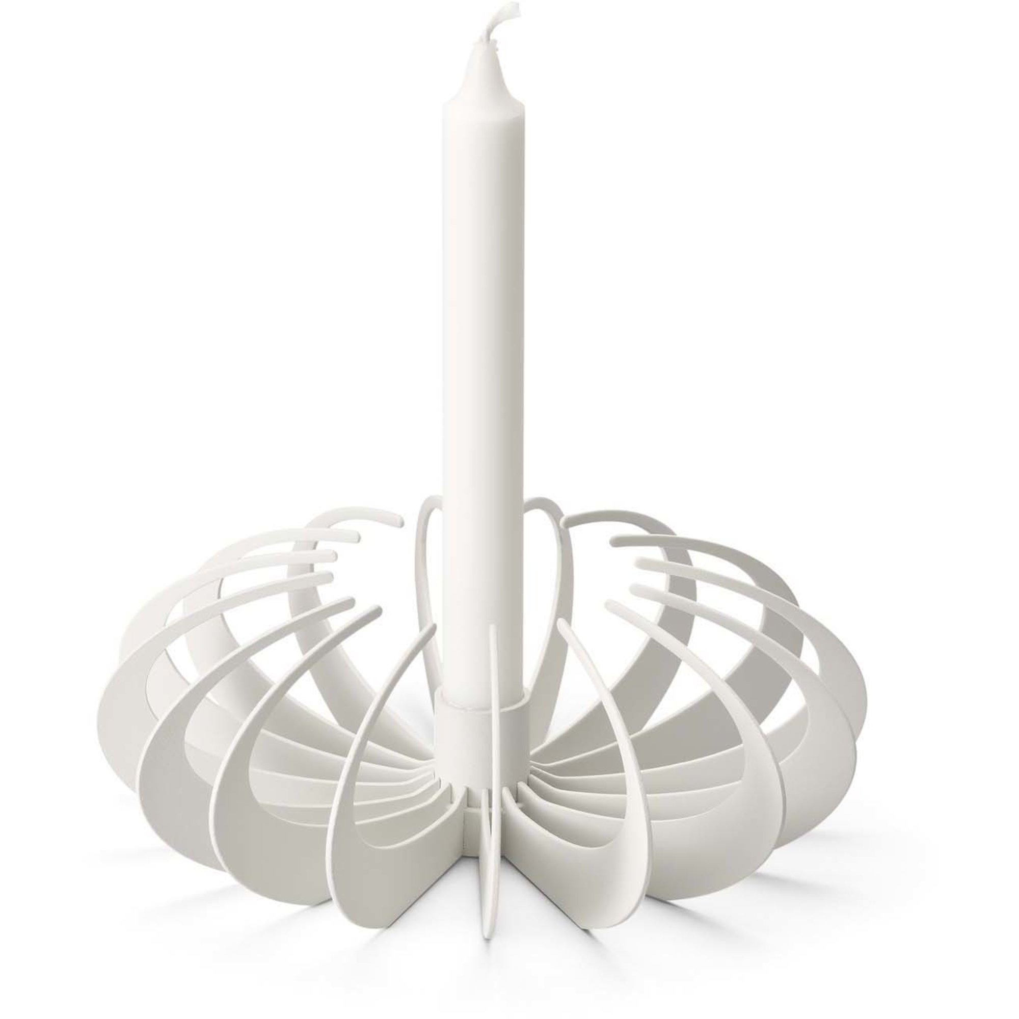 Design House Stockholm Shadow Candleholder White