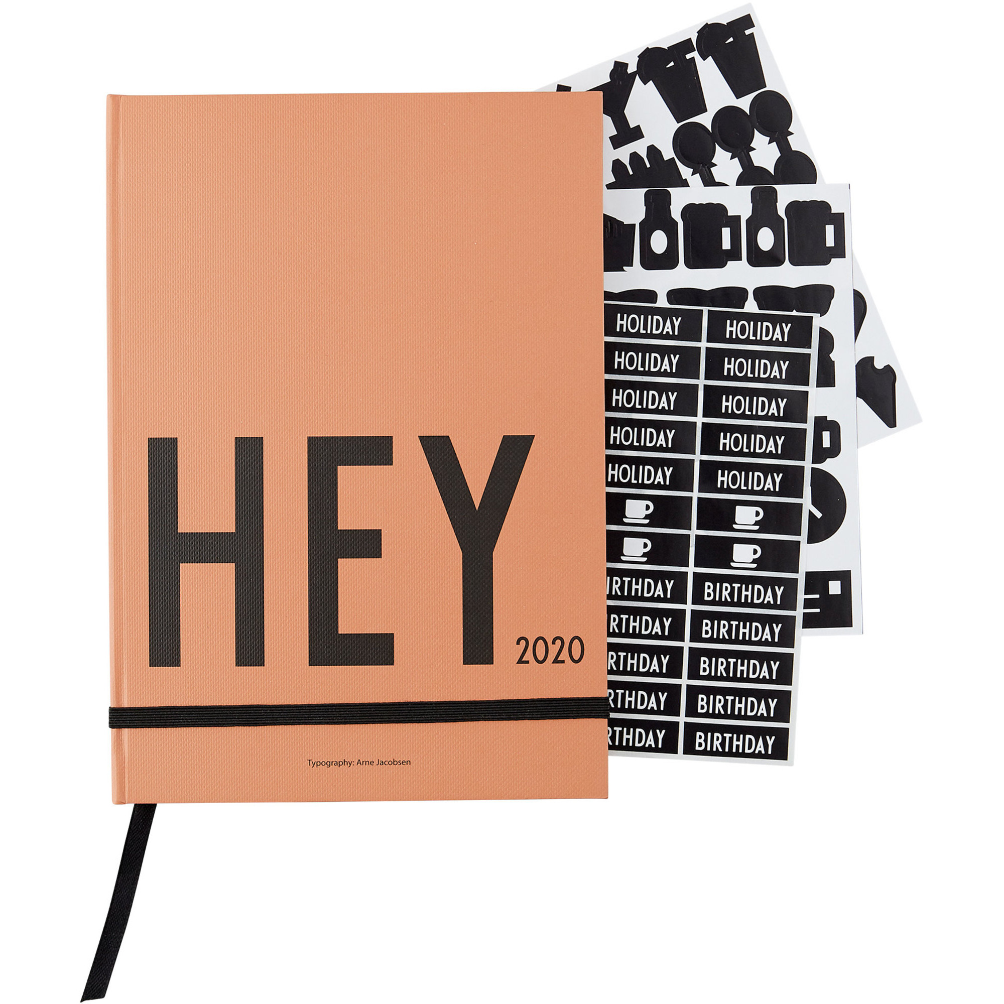 Design Letters Calendar 2020 Beige