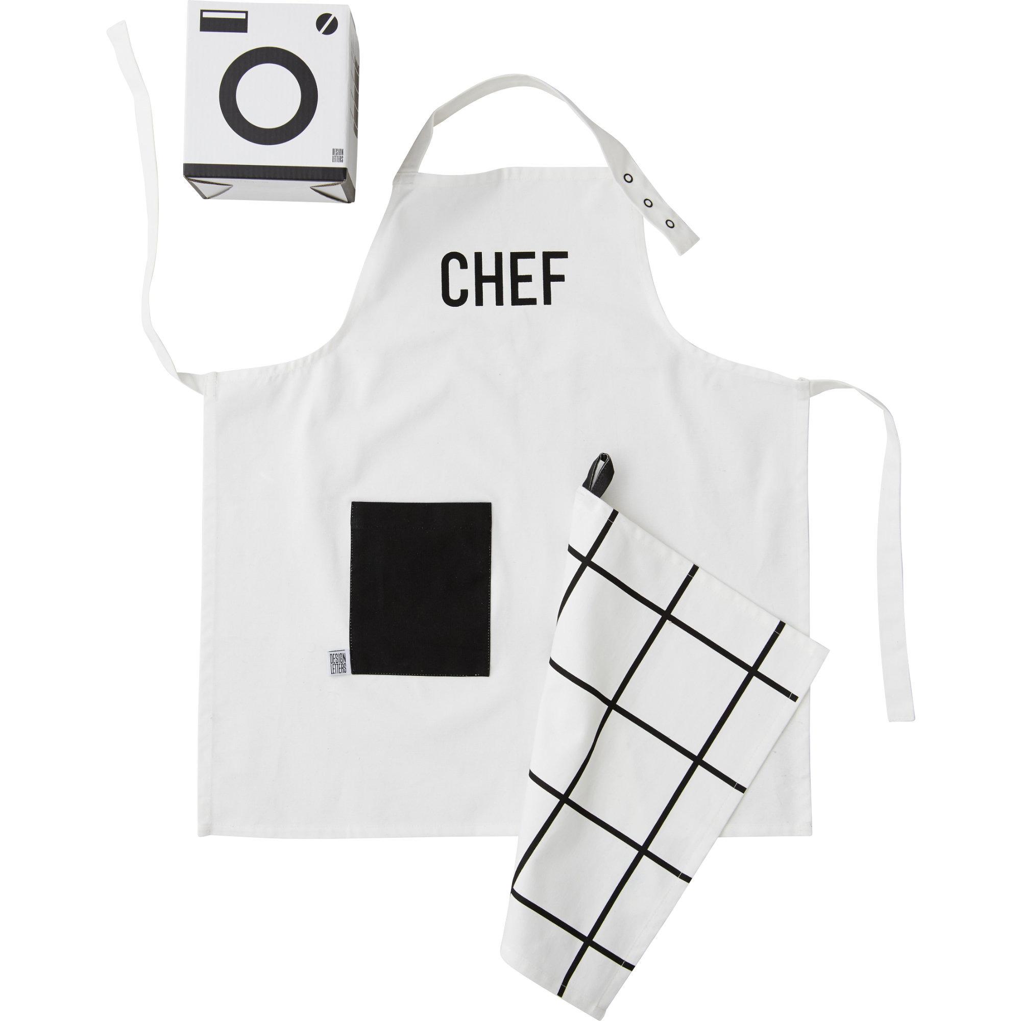 Design Letters Barnförkläde & Handduk