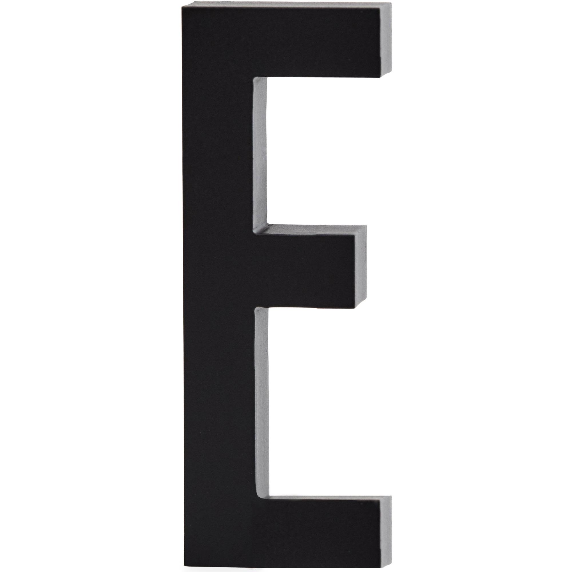 Design Letters Bokstav Grå i Aluminium 50 mm E
