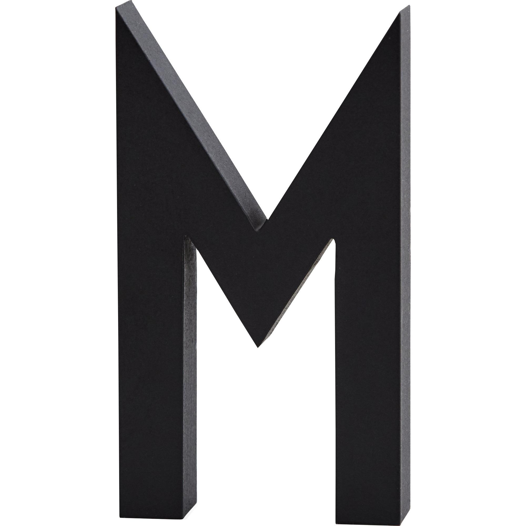 Design Letters Bokstav Grå i Aluminium 50 mm M