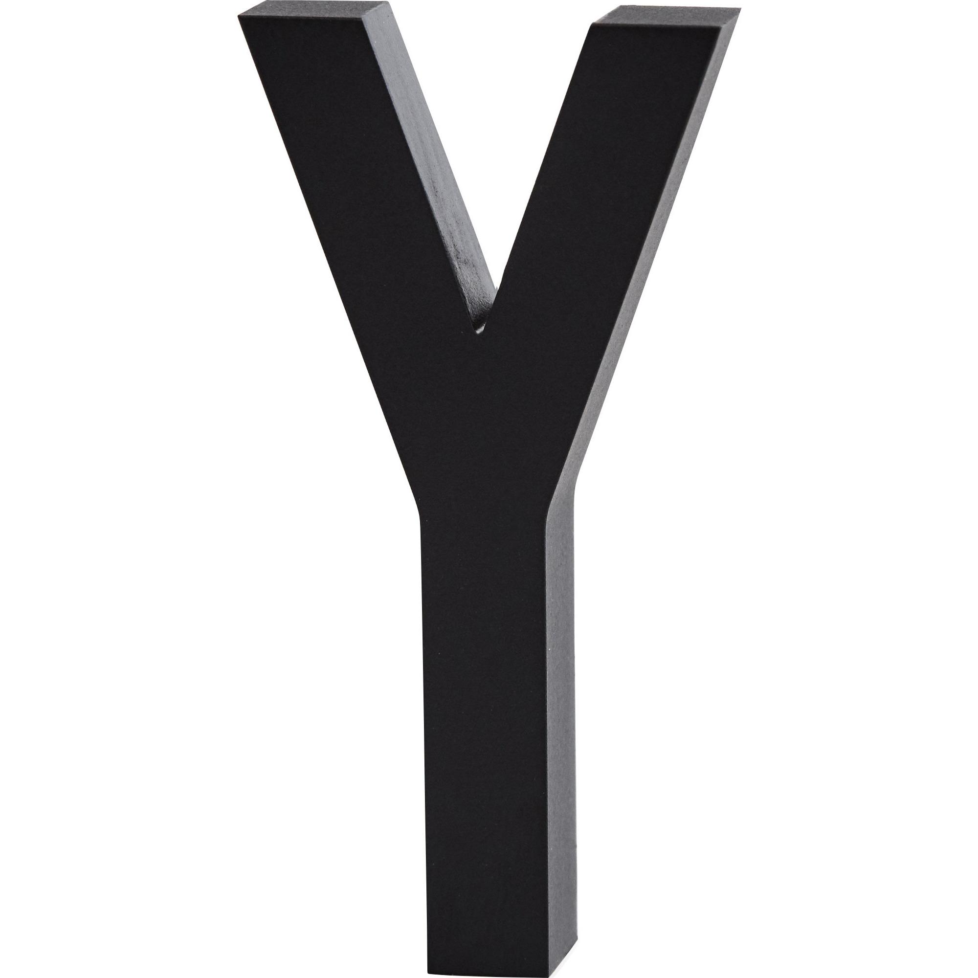 Design Letters Bokstav Grå i Aluminium 50 mm Y