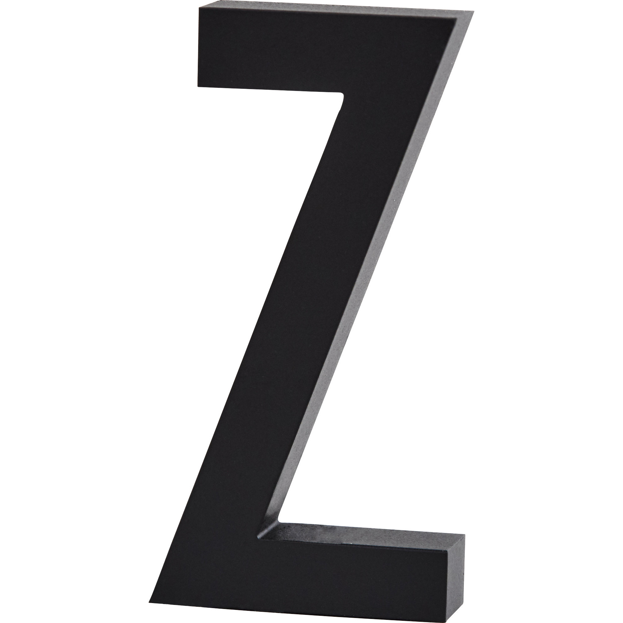 Design Letters Bokstav Grå i Aluminium 50 mm Z