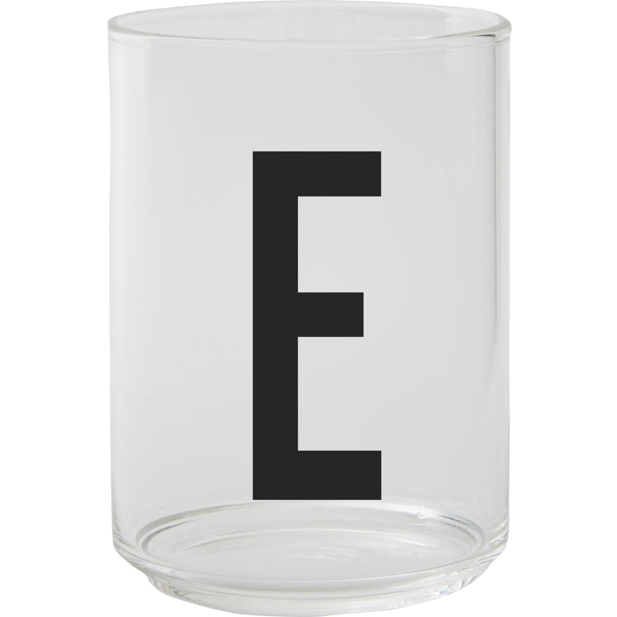Design Letters Dricksglas E