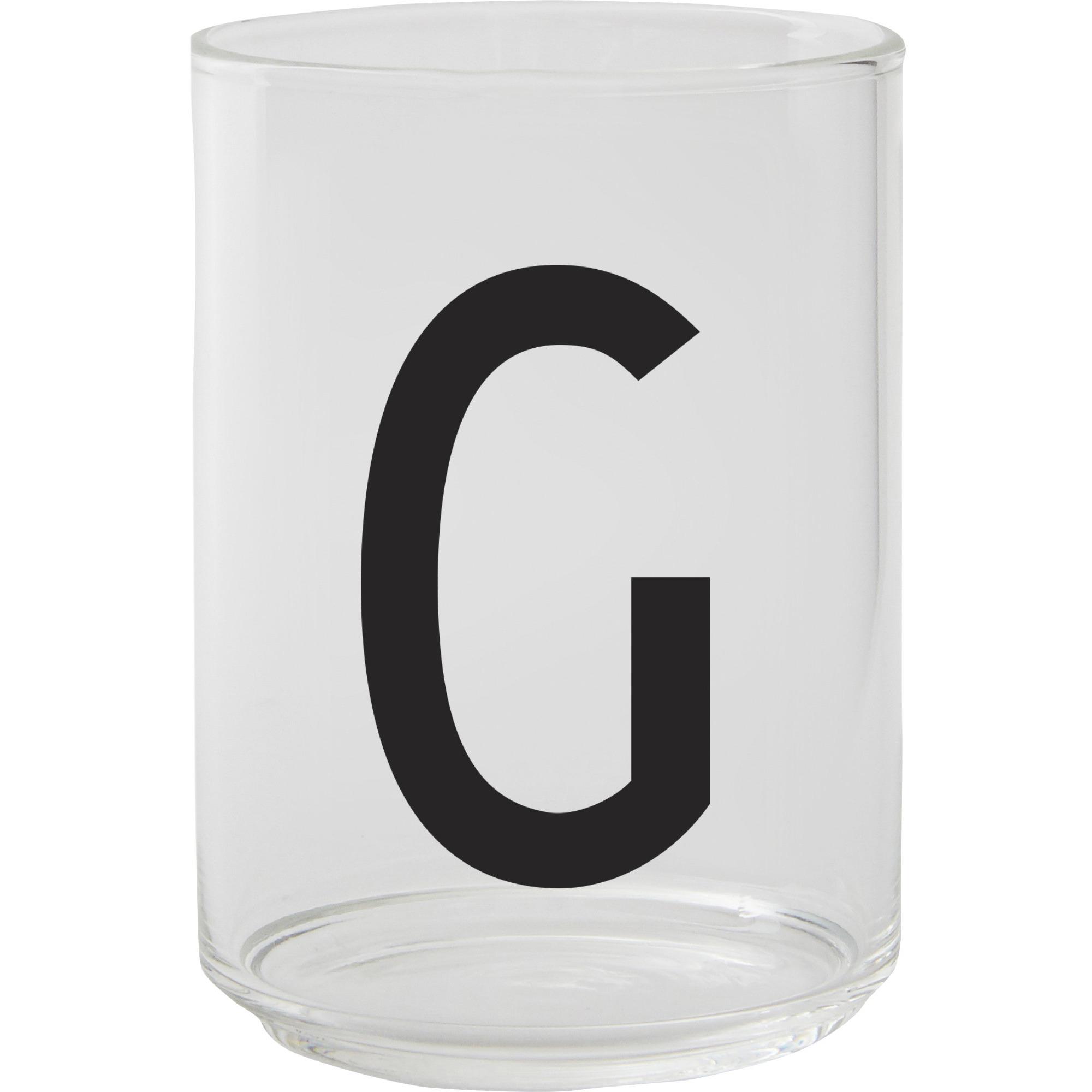 Design Letters Dricksglas G