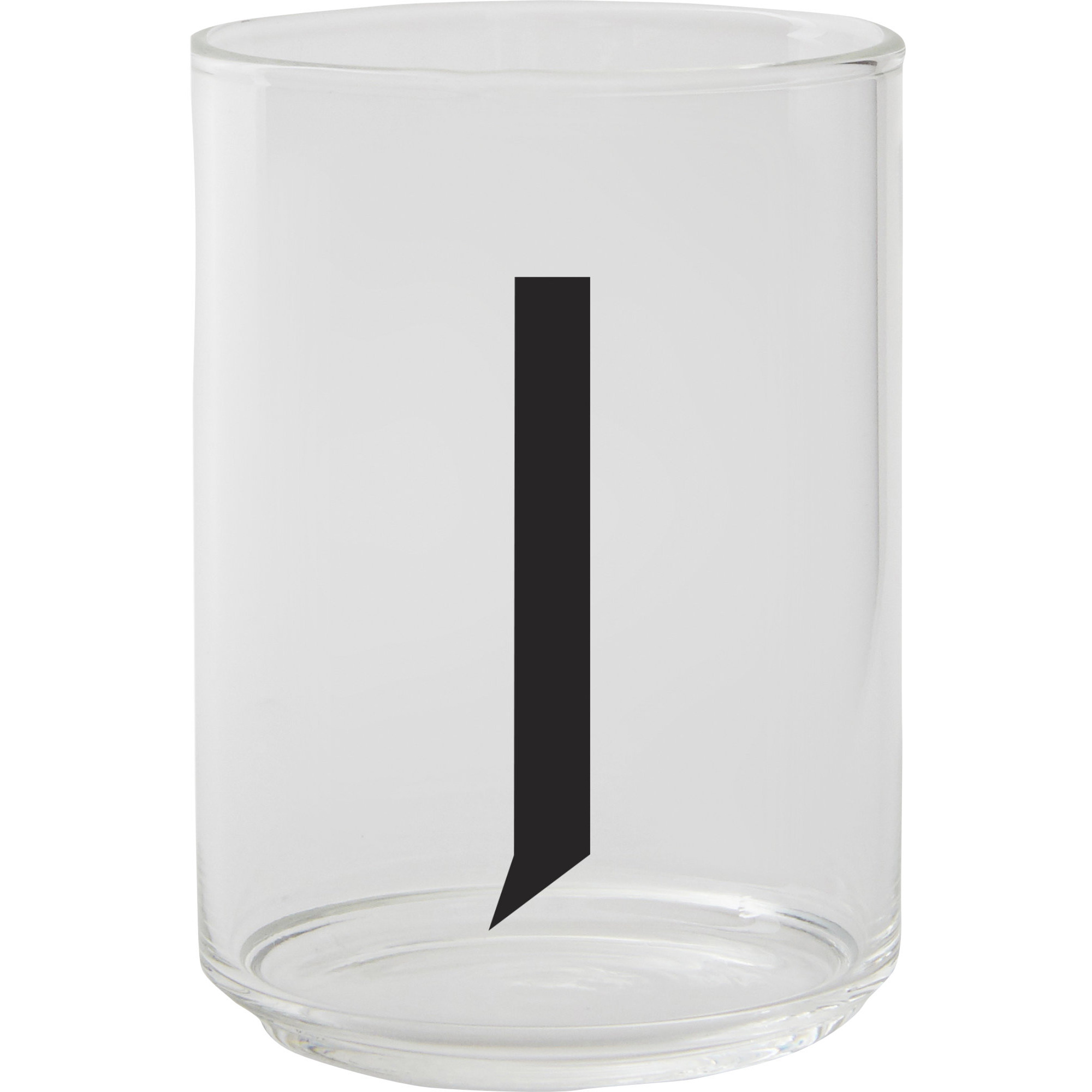 Design Letters Dricksglas J