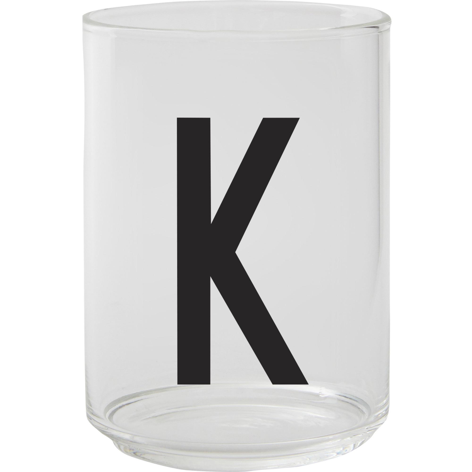 Design Letters Dricksglas K