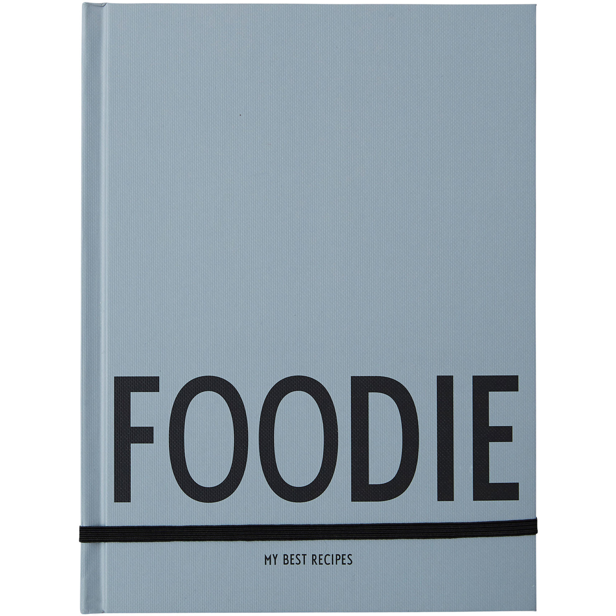 Design Letters Foodie Book Grå