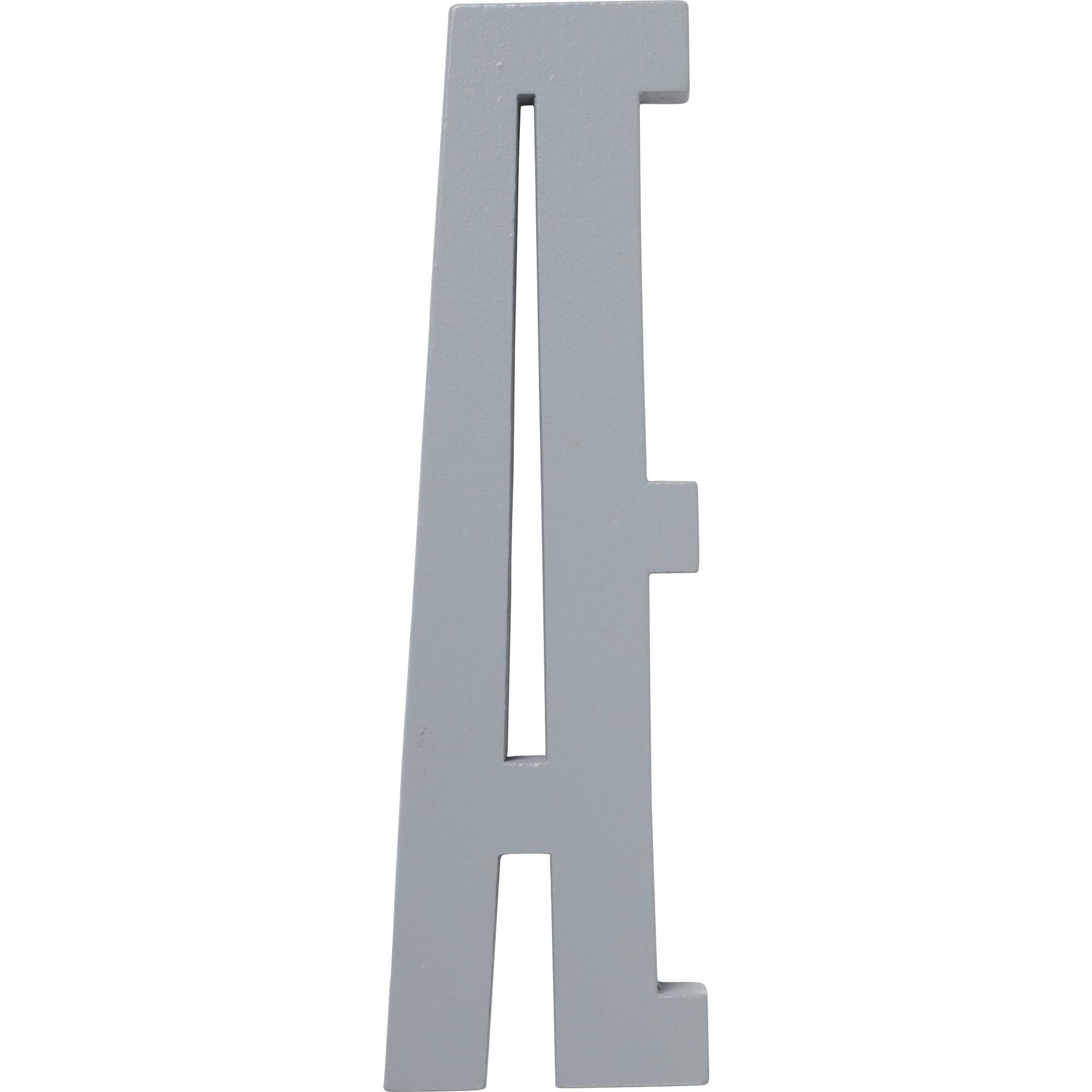 Design Letters Grå Bokstav i Trä Æ