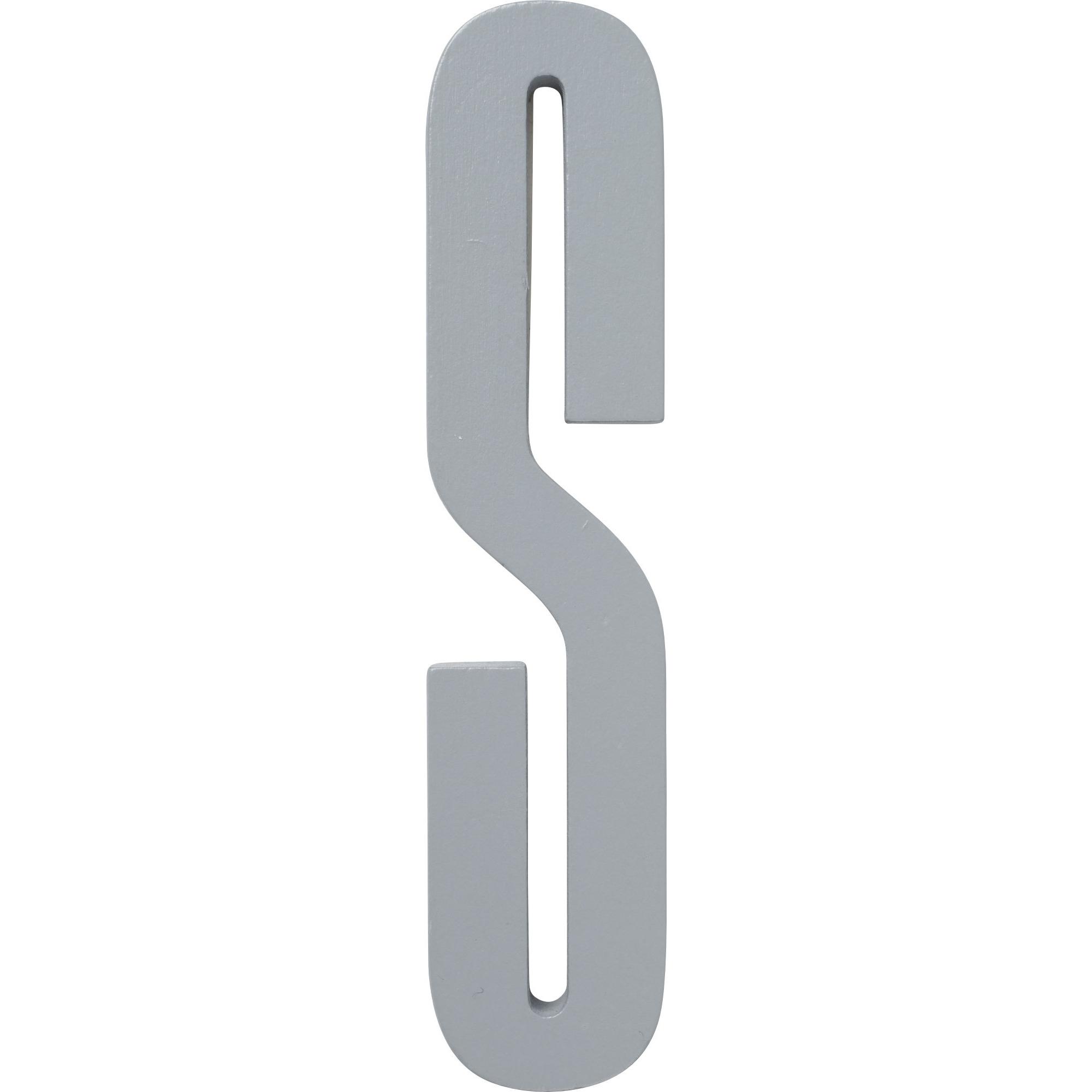 Design Letters Grå Bokstav i Trä S