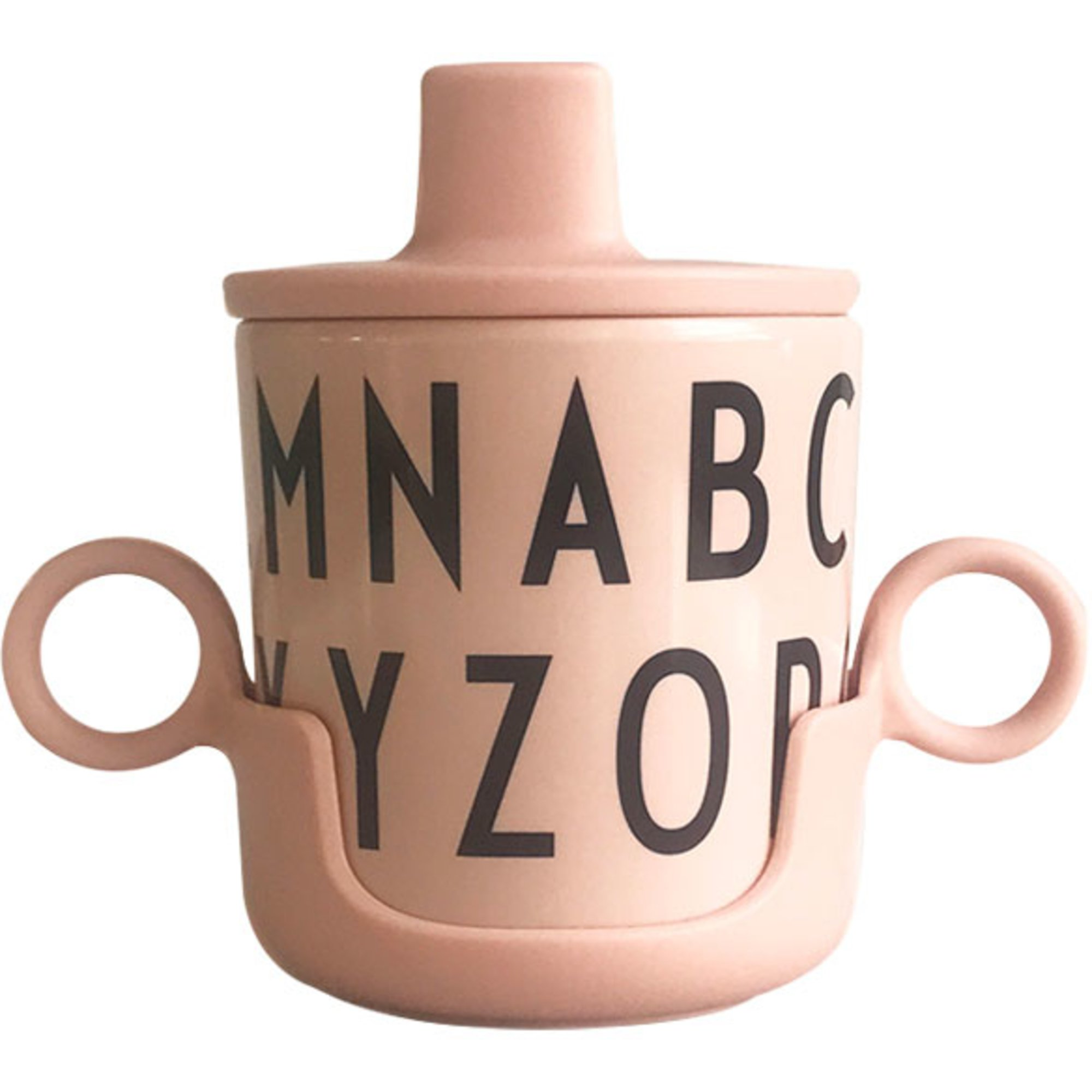 Design Letters Grow with Your Cup ABC melamin nude