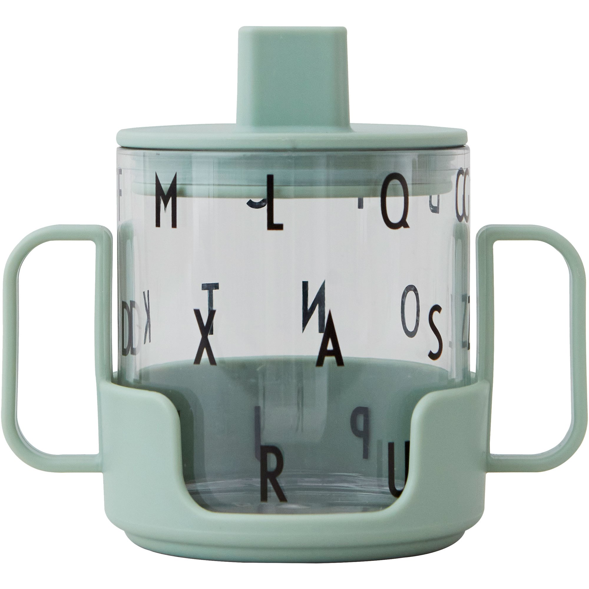 Design Letters Grow with Your Cup tritan grön