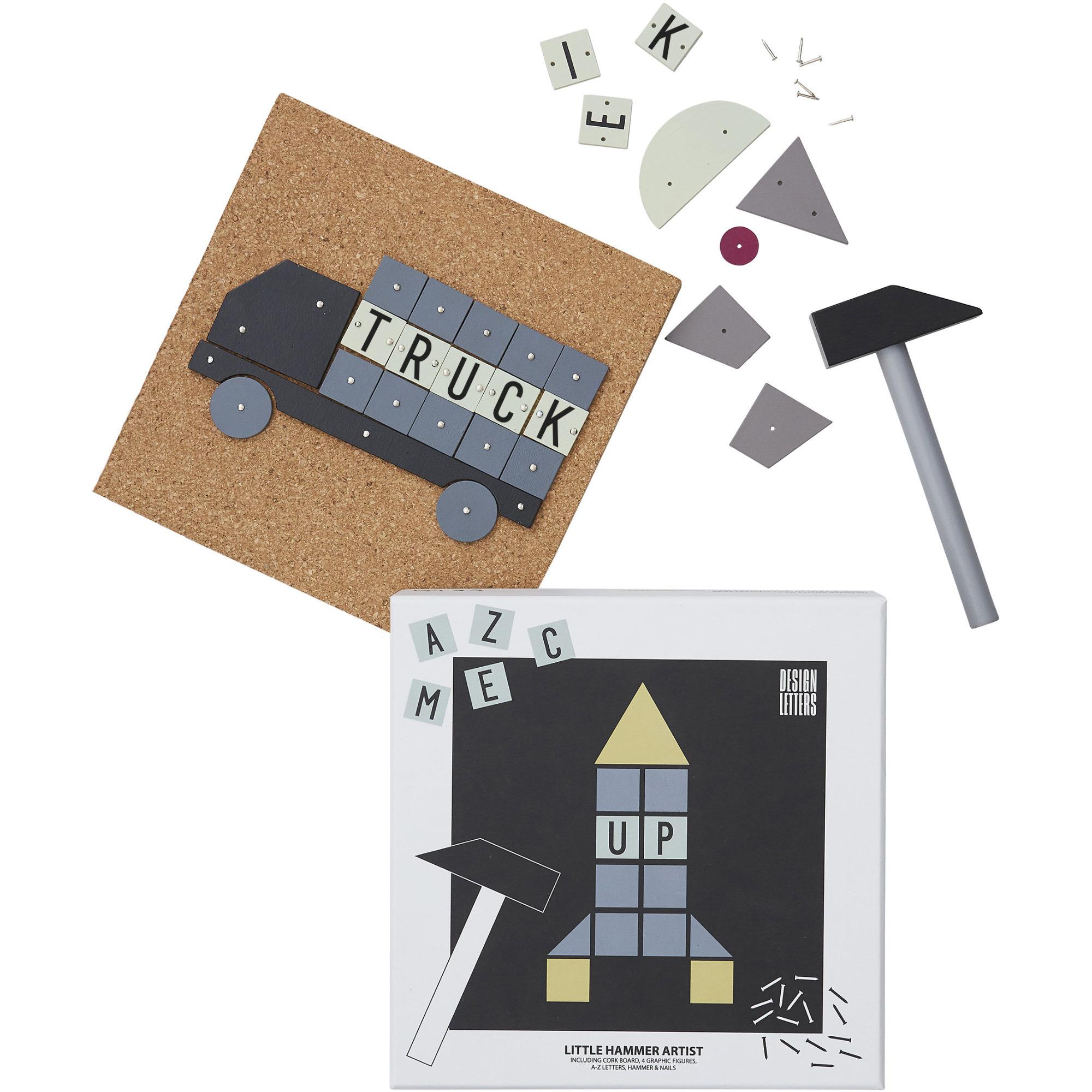 Design Letters Hammer Artist Barnservis 3-del Blå