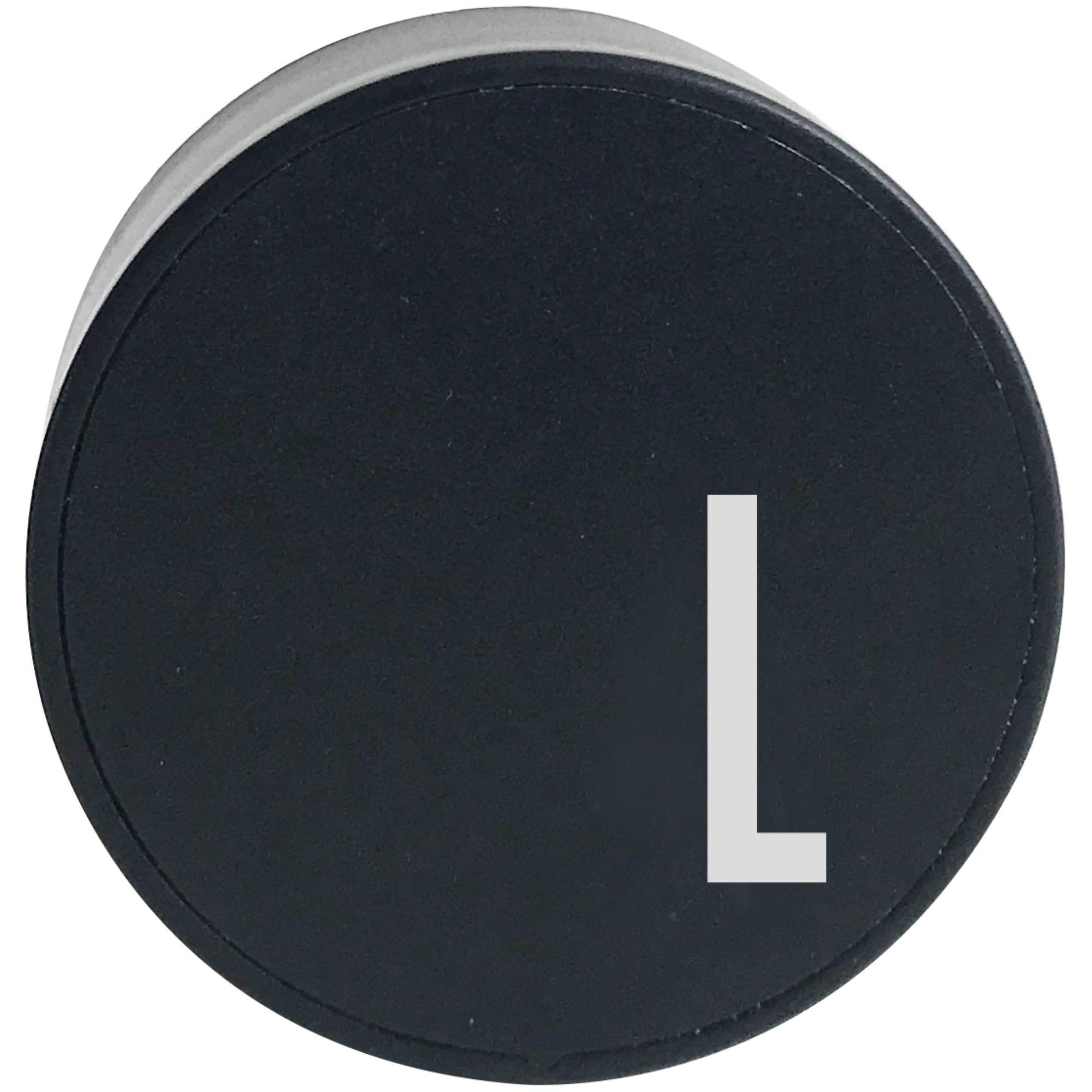 Design Letters Laddare Svart L