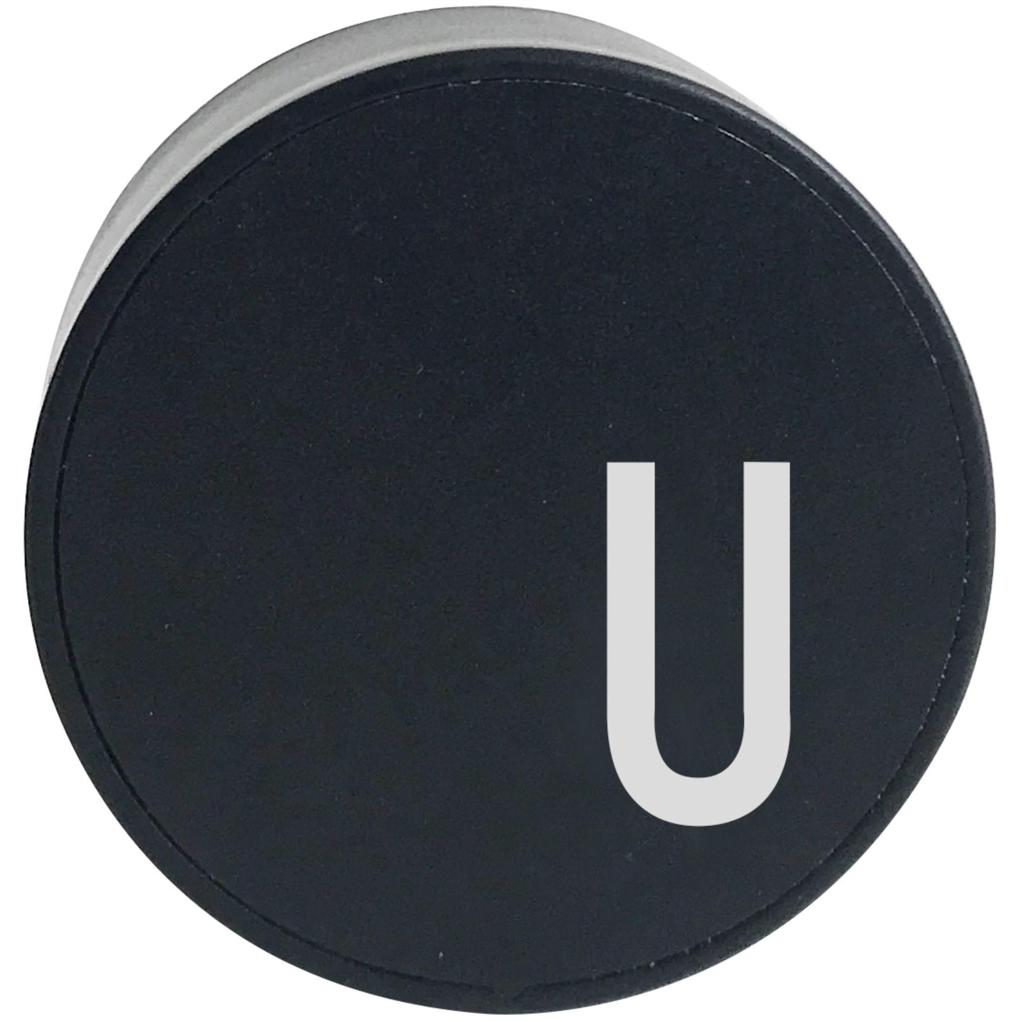 Design Letters Laddare Svart U